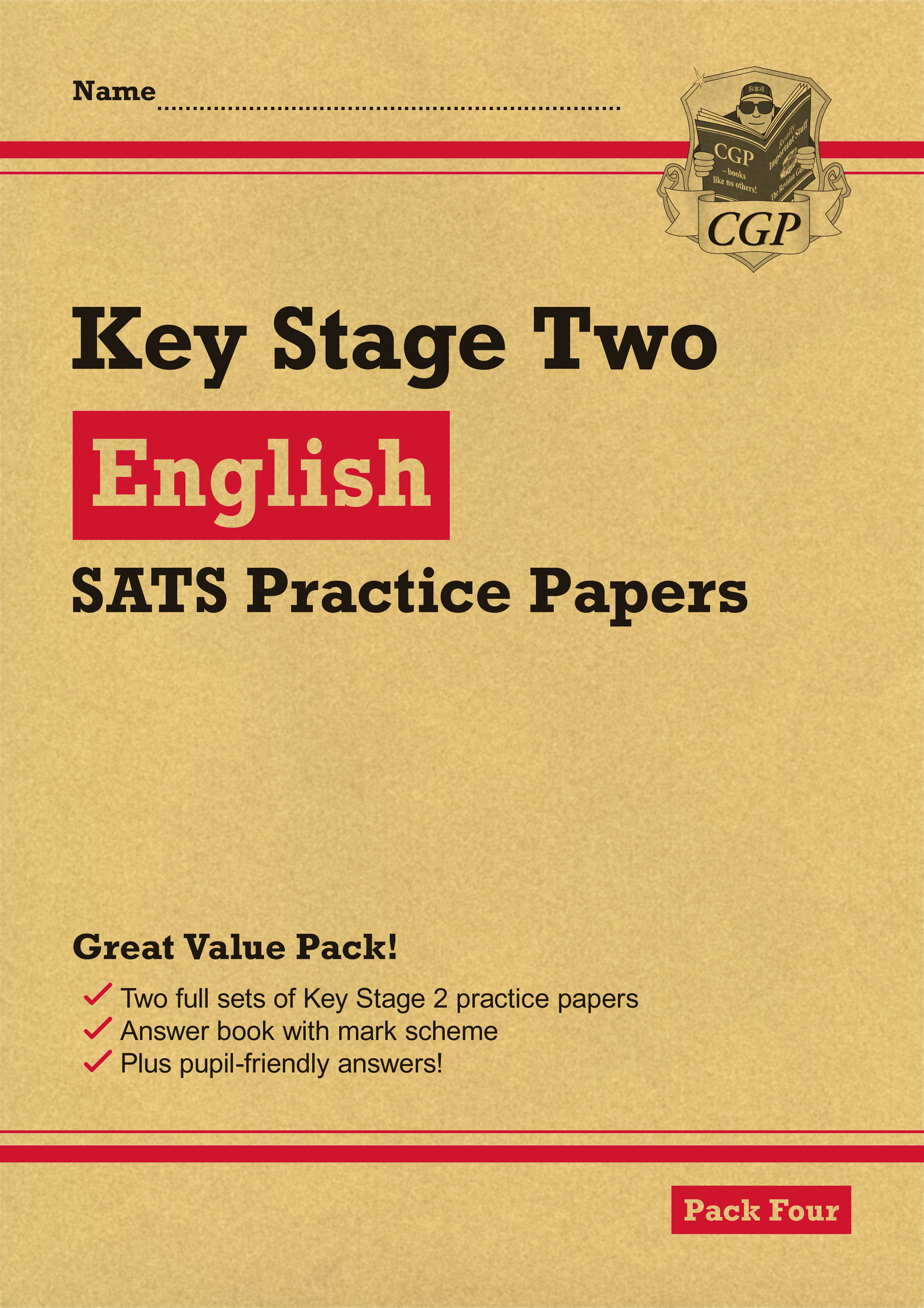 EHRP27 - New KS2 English SATS Practice Papers: Pack 4 (for the 2019 tests)
