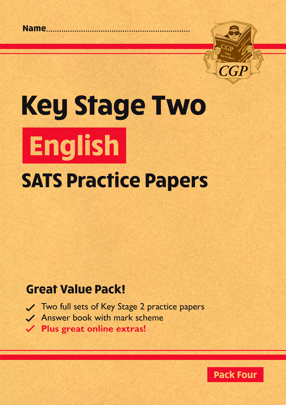 EHRP28 - New KS2 English SATS Practice Papers: Pack 4 (with free Online Extras)