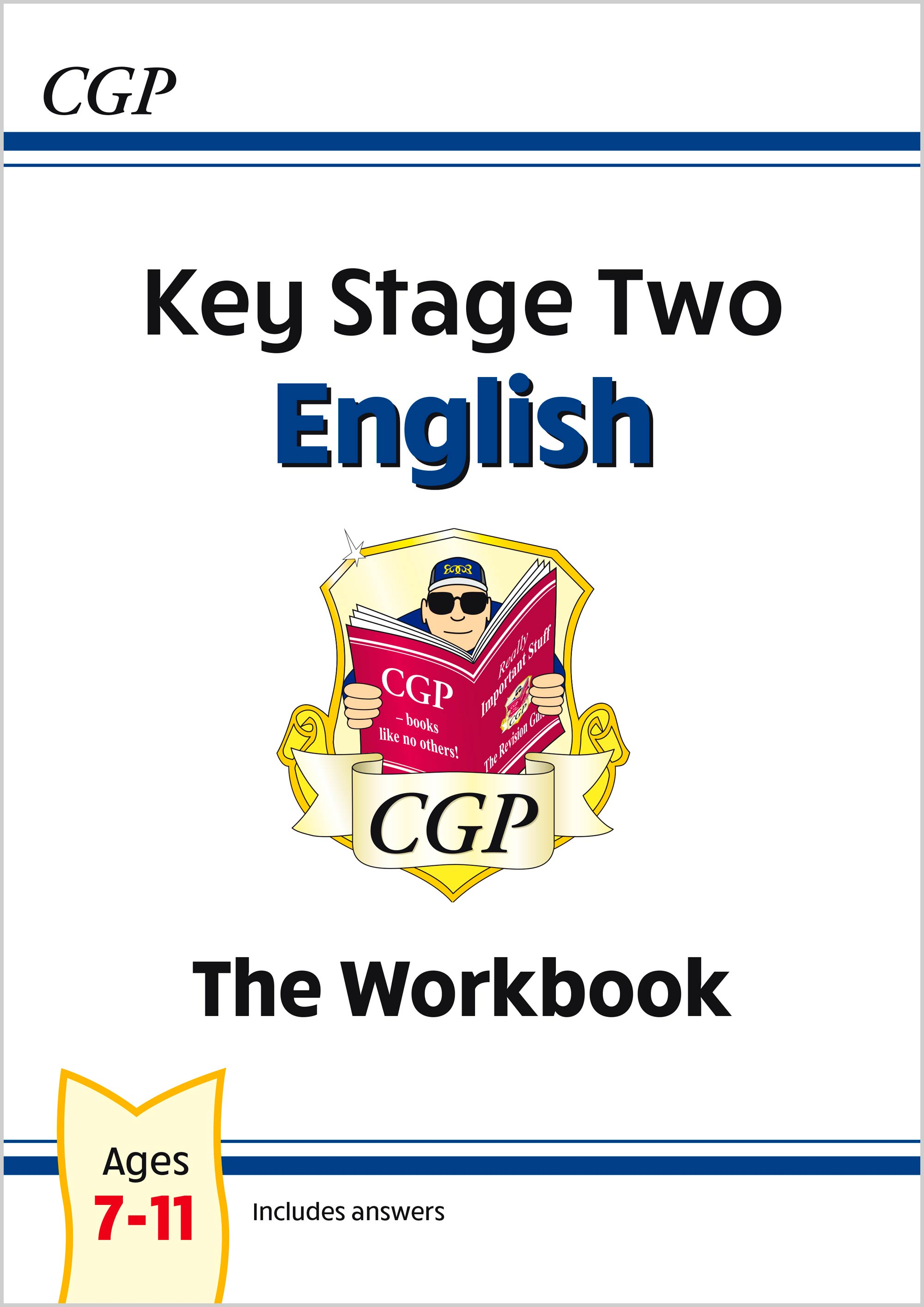 EHW26 - New KS2 English Workbook - Ages 7-11