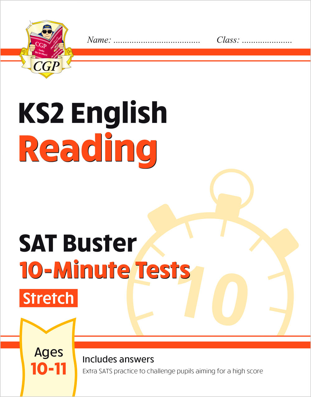 EHXPR21 - New KS2 English SAT Buster 10-Minute Tests: Reading - Stretch (for the 2020 tests)