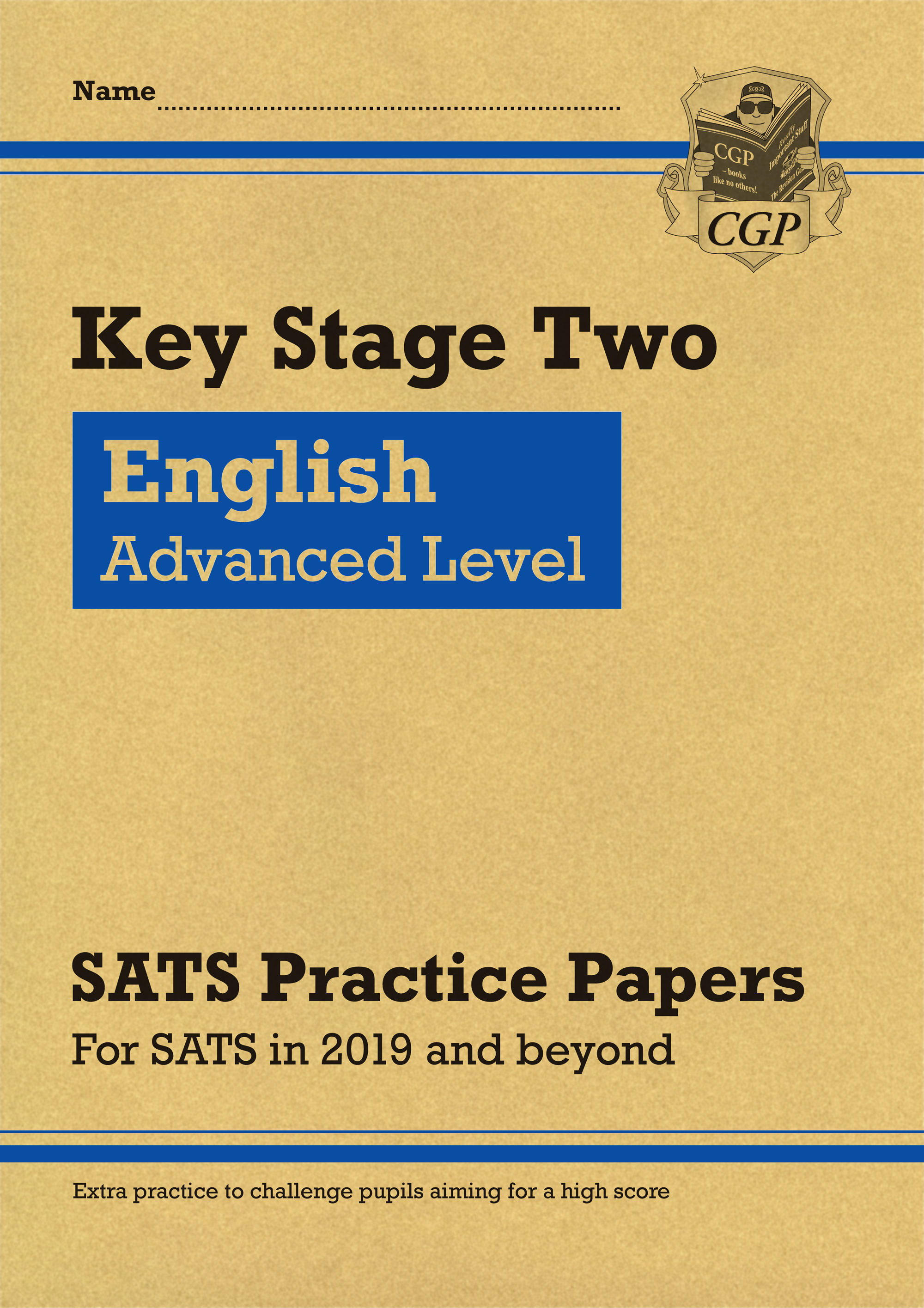 ELHP22 - New KS2 English Targeted SATS Practice Papers: Advanced Level (for the 2020 tests)