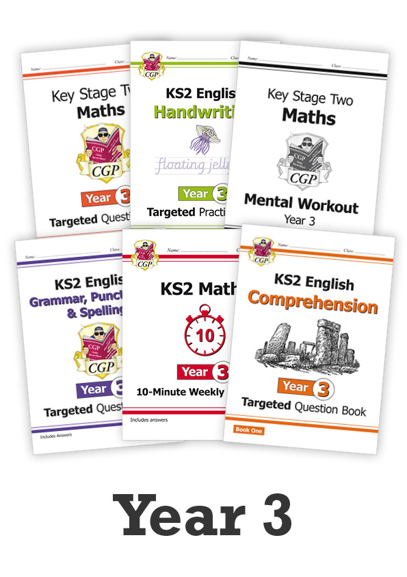 EM3CUB21 - Year 3 Essentials: Workbook Bundle - Ages 7-8