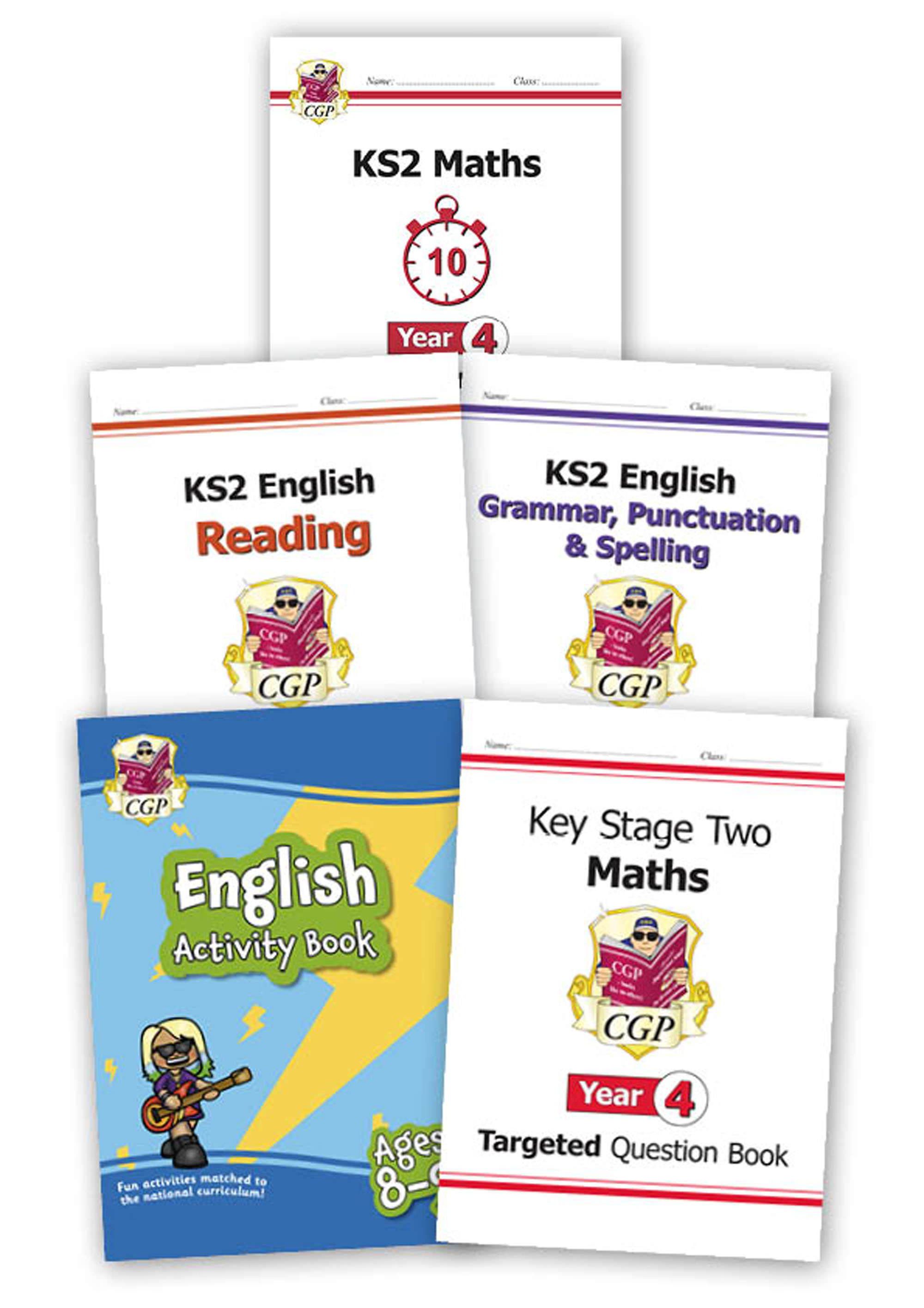 EM4HSB24 - Year 4 Home Learning Bundle: Maths & English