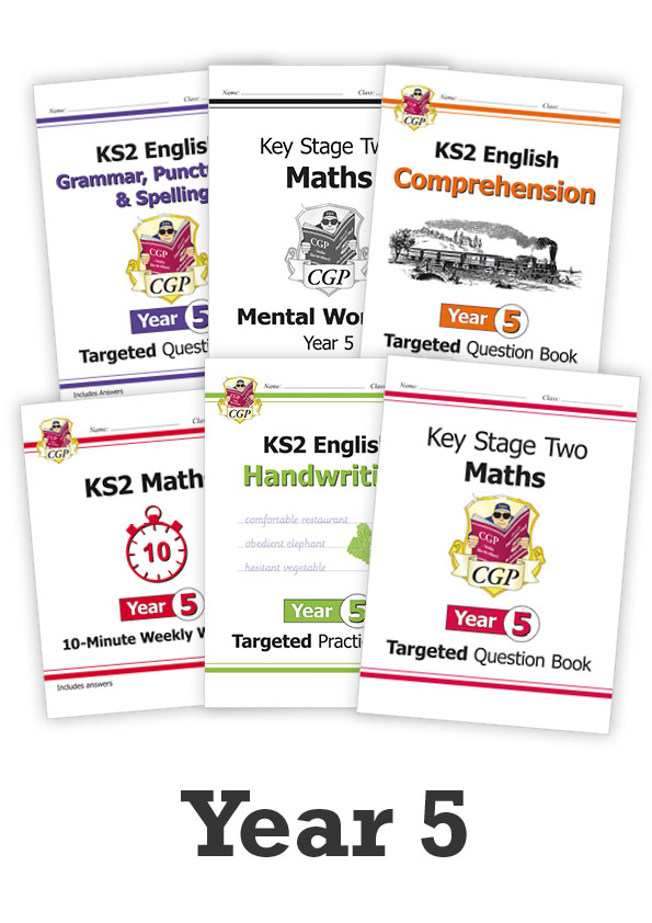 EM5CUB21 - Year 5 Catch-Up Essentials: Workbook Bundle - Ages 9-10
