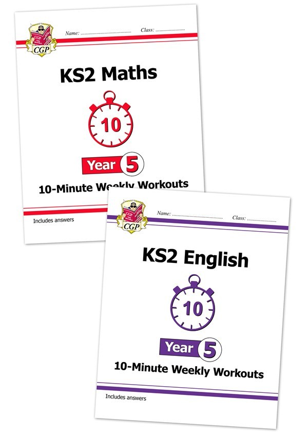 New KS2 English 10-Minute Weekly Workouts - Year 5