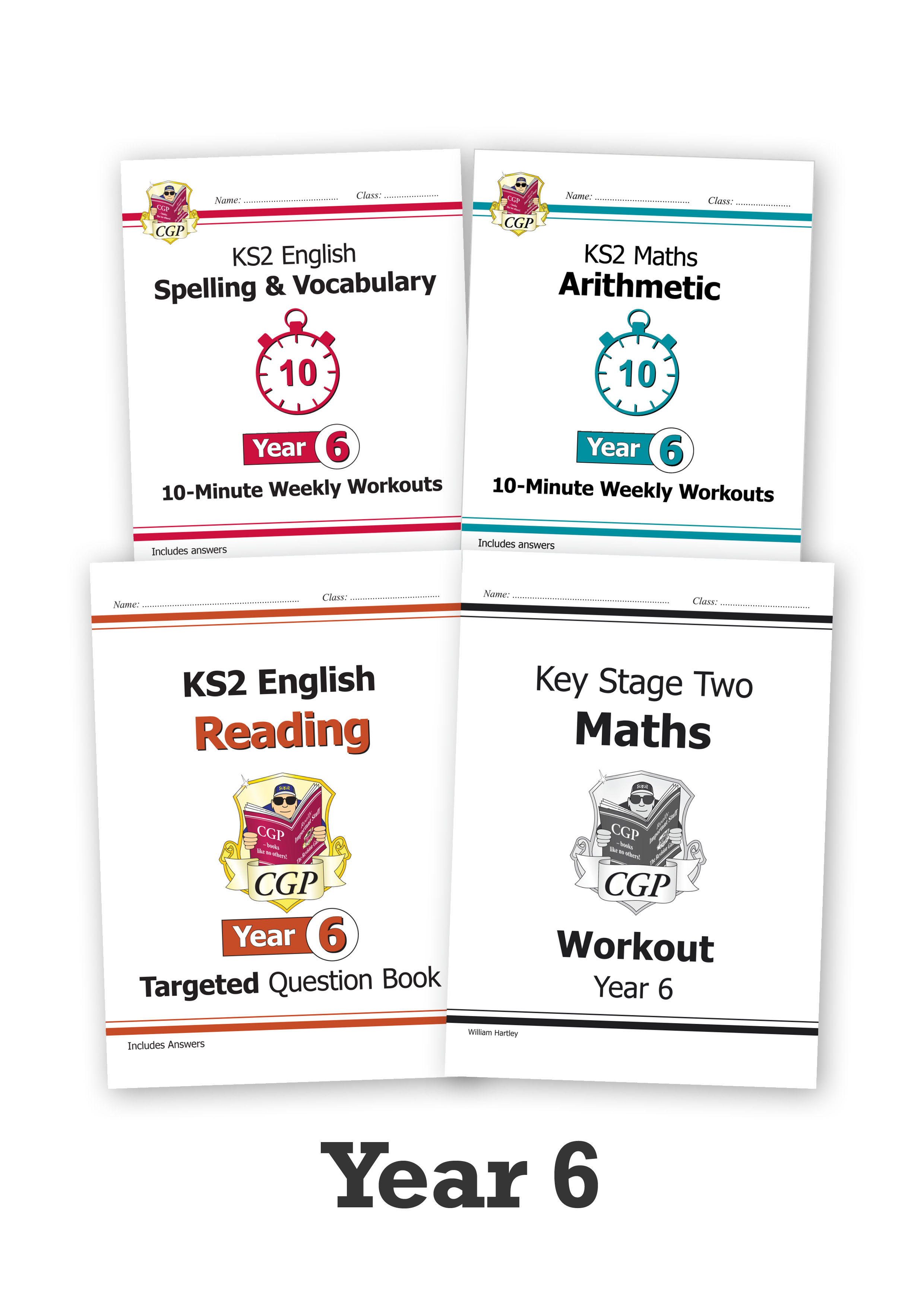 EM6CUB221 - Year 6 Home Learning Essentials – Spring Top-Up Bundle
