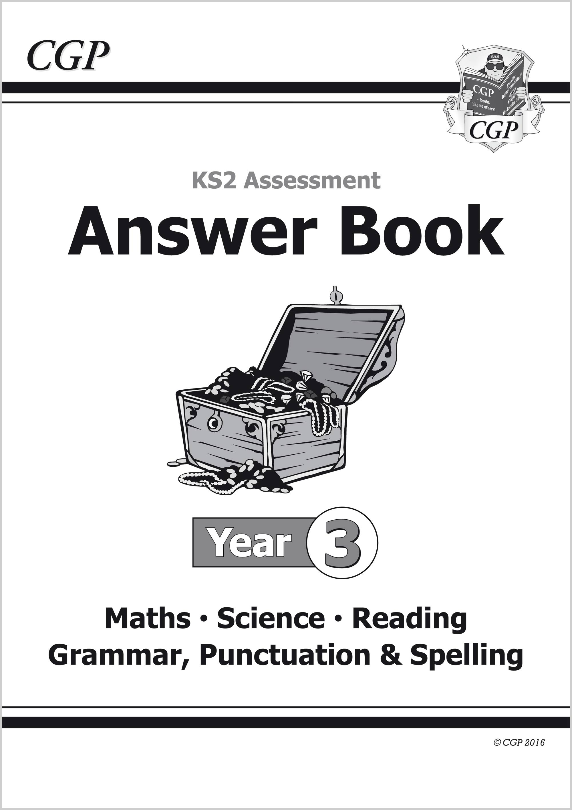 EMS3A21 - KS2 Assessment: Complete Answer Book - Year 3 Tests