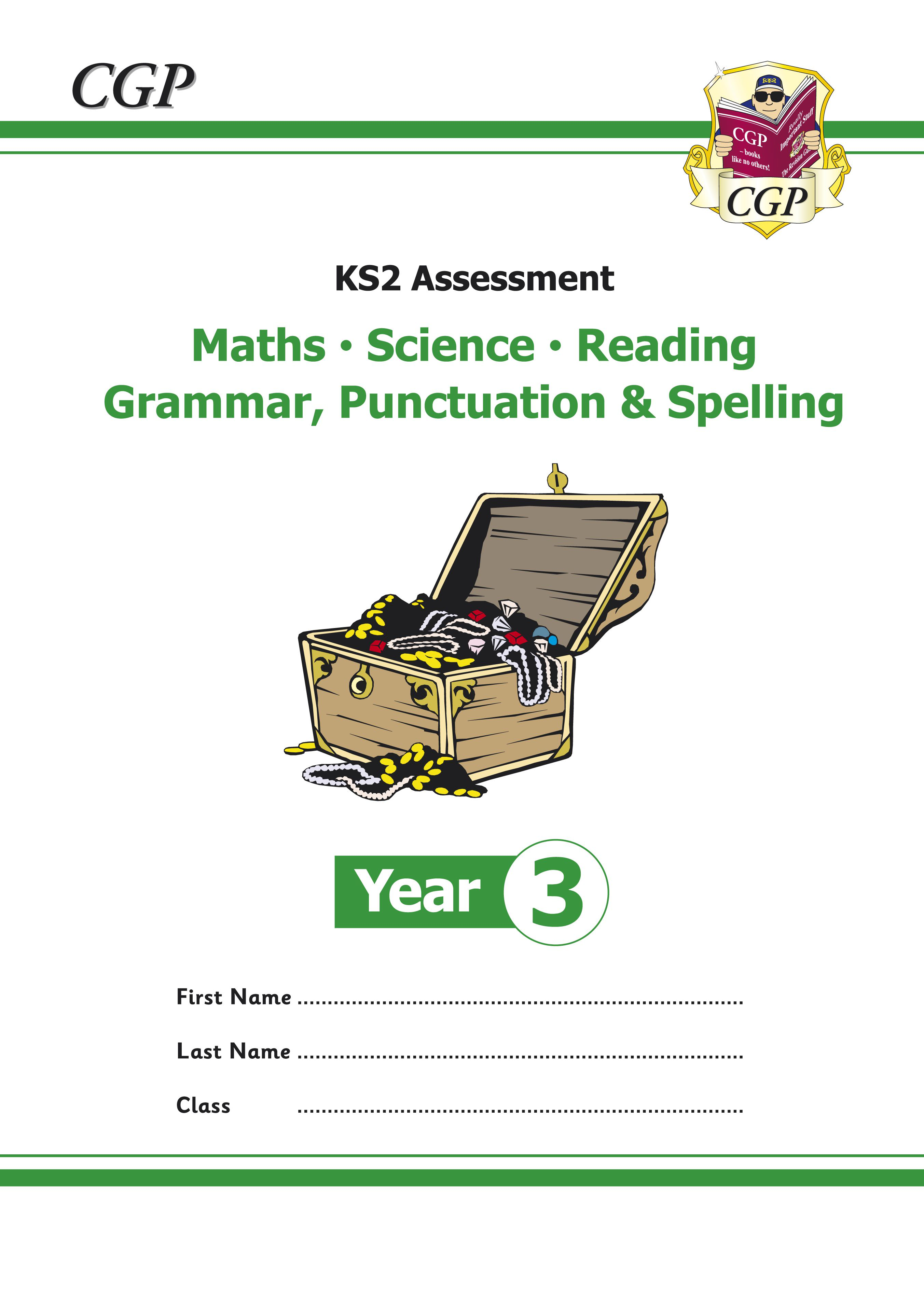 EMS3P21 - KS2 Assessment: Reading, SPaG, Maths and Science - Year 3 Tests