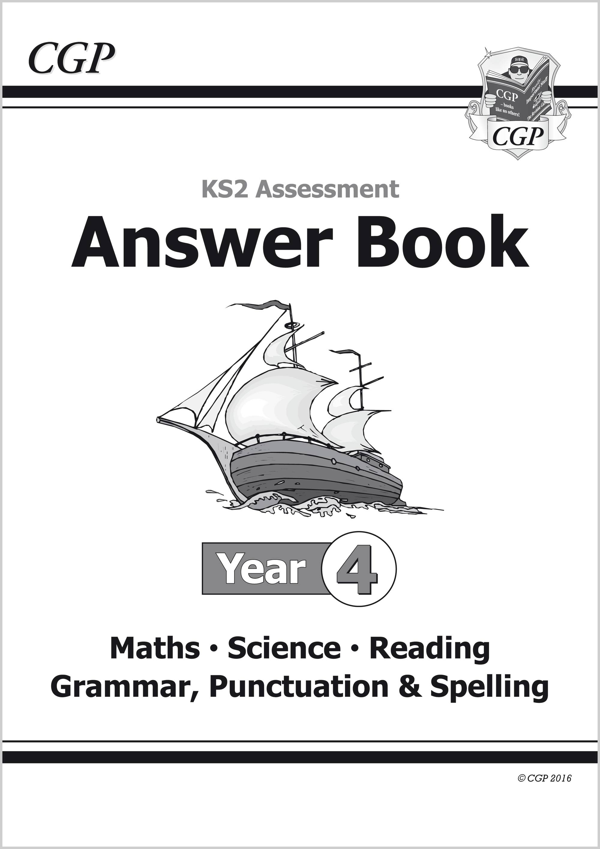 EMS4A21 - KS2 Assessment: Complete Answer Book - Year 4 Tests
