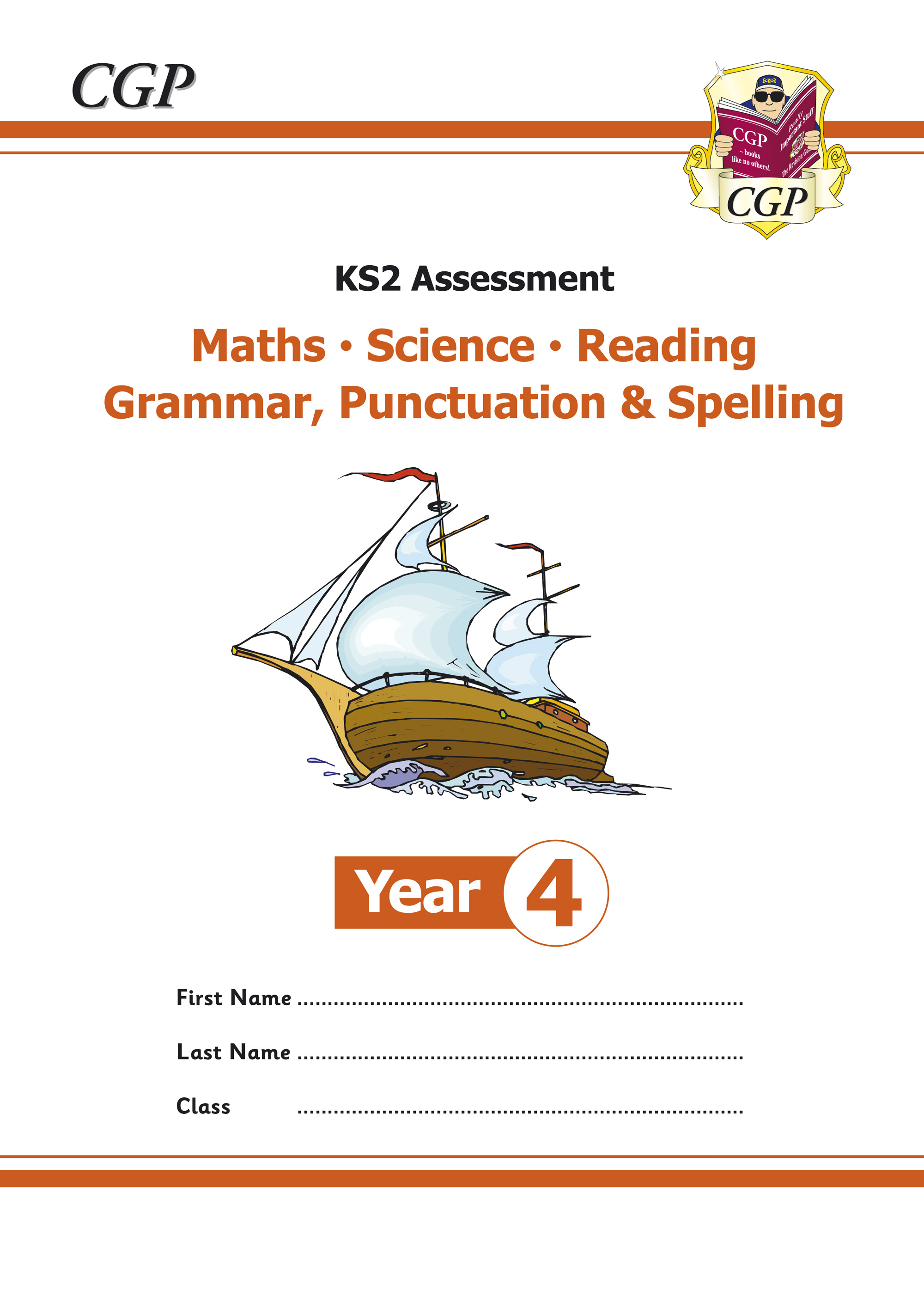 EMS4P21 - KS2 Assessment: Reading, SPaG, Maths and Science - Year 4 Tests
