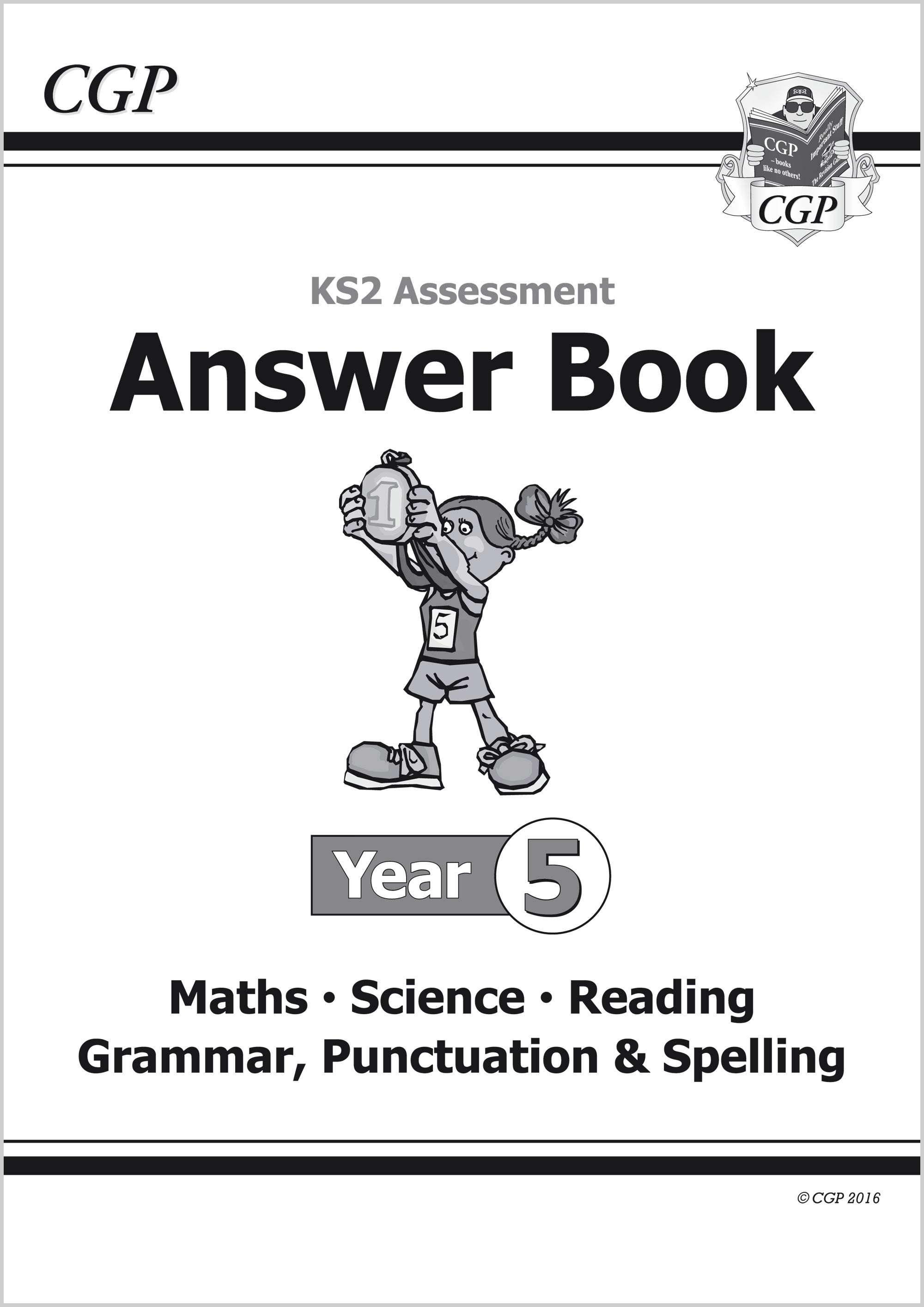EMS5A21 - KS2 Assessment: Complete Answer Book - Year 5 Tests