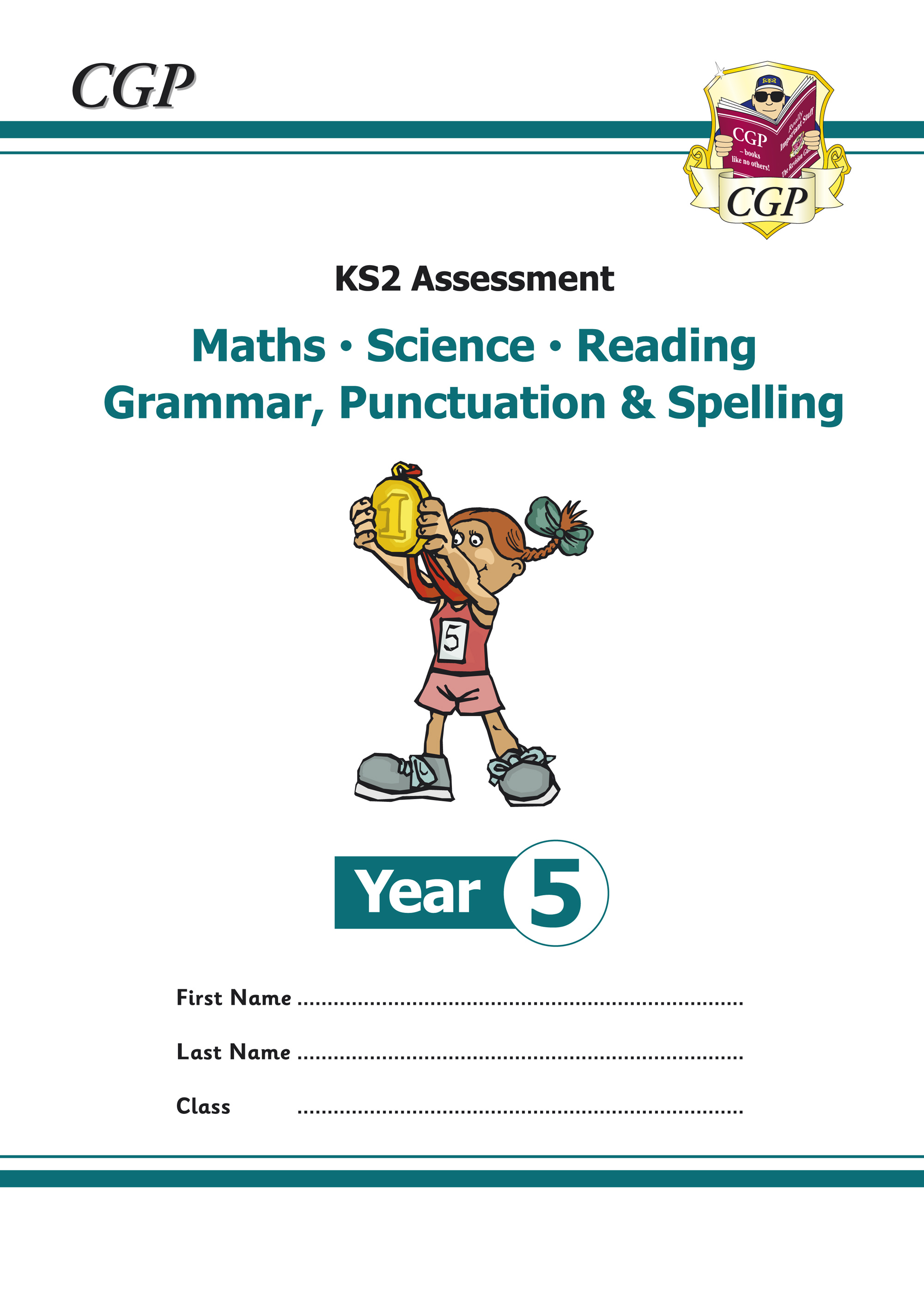 EMS5P21 - KS2 Assessment: Reading, SPaG, Maths and Science - Year 5 Tests