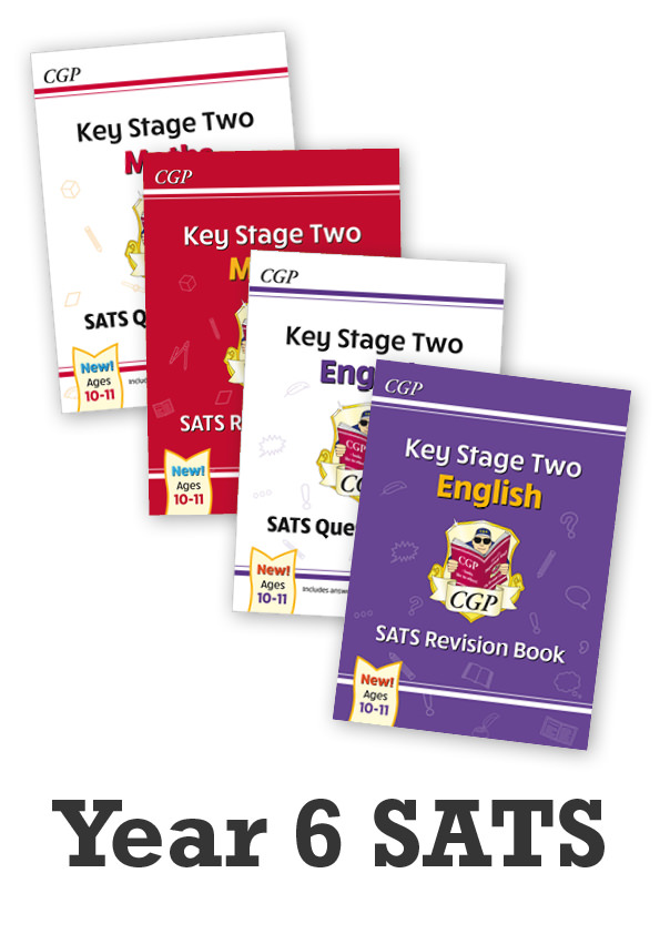 EMSB21 - Year 6 SATS Catch-Up Essentials: Study & Question Book Bundle - Ages 10-11