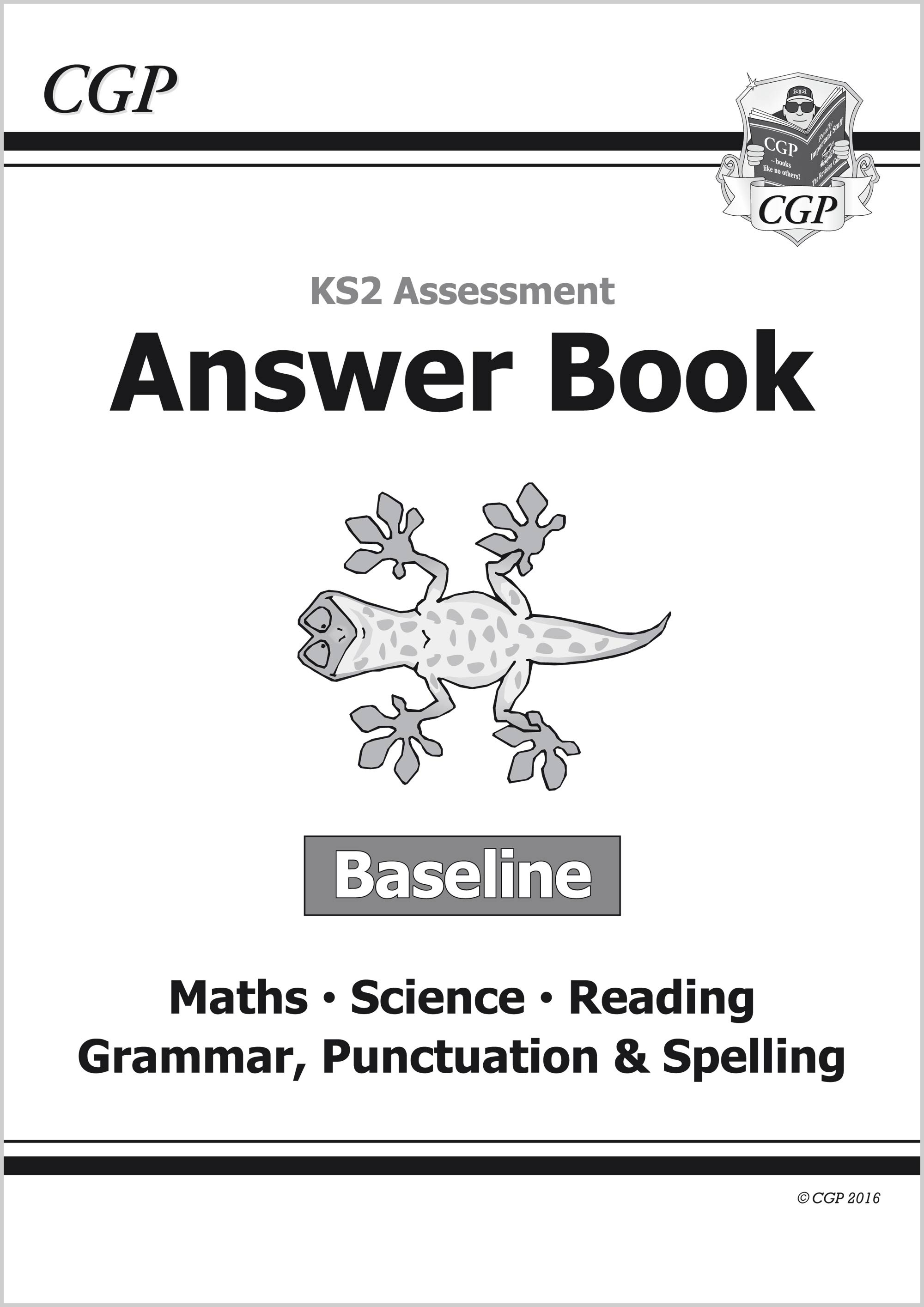 EMSBA21 - KS2 Assessment: Complete Answer Book - Baseline Tests