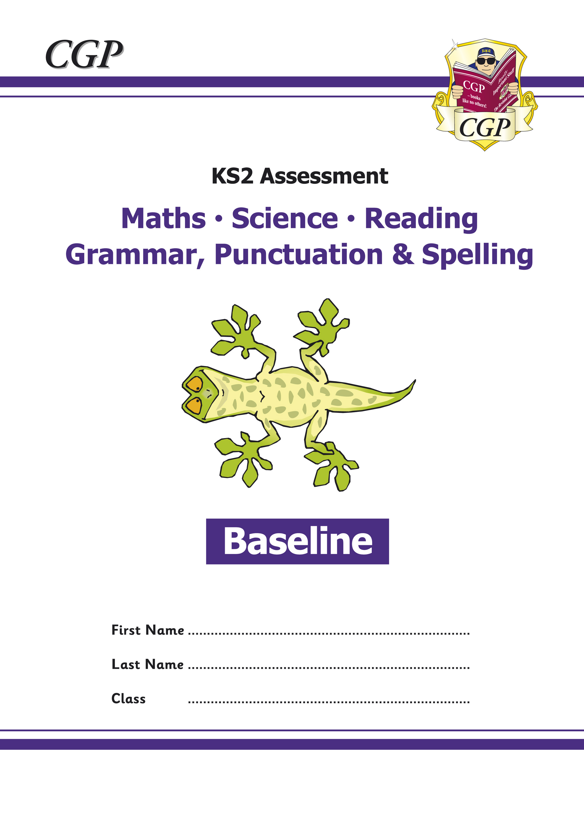 EMSBP21 - KS2 Assessment: Reading, SPaG, Maths and Science - Baseline Tests