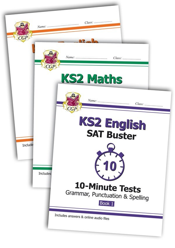 The Complete KS2 Maths and English 10-Minute Test SAT Buster