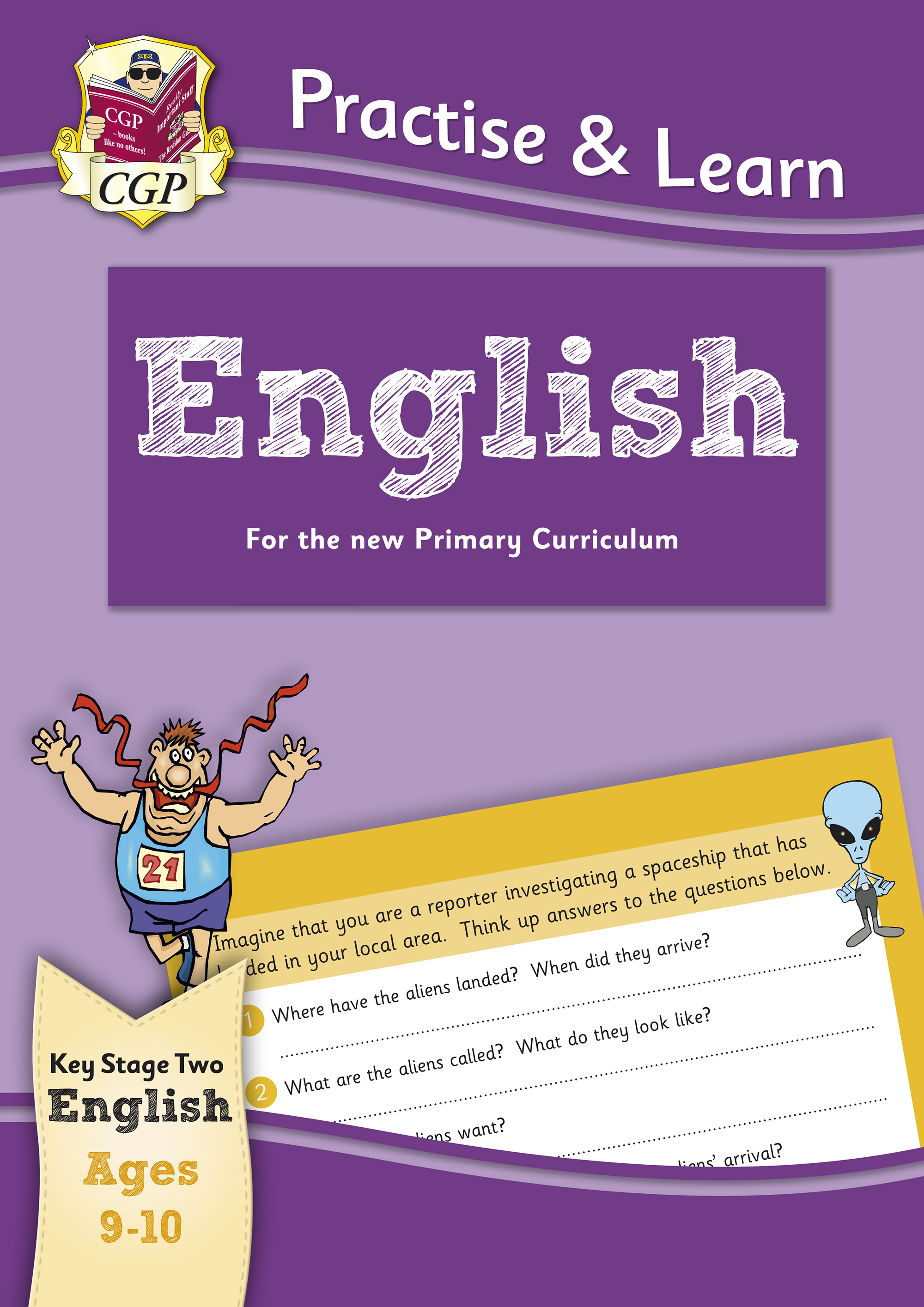 EP5Q22 - New Curriculum Practise & Learn: English for Ages 9-10