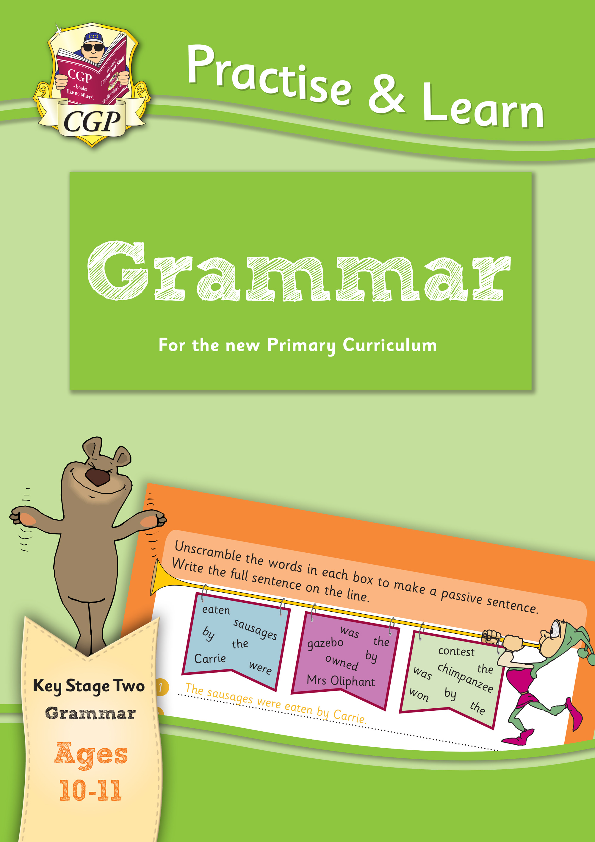 EP6G22 - New Curriculum Practise & Learn: Grammar for Ages 10-11