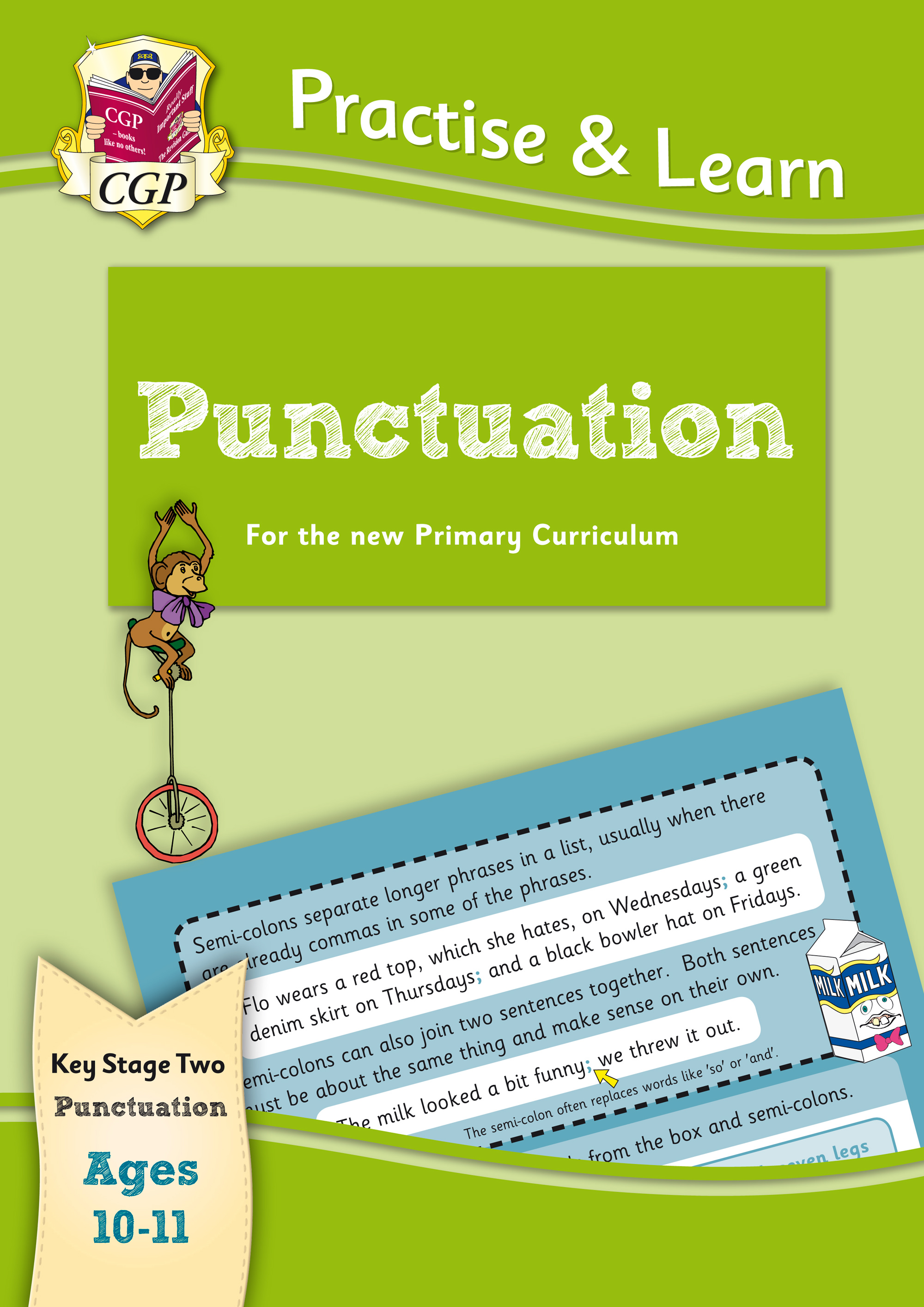 EP6P22 - New Practise & Learn: Punctuation for Ages 10-11