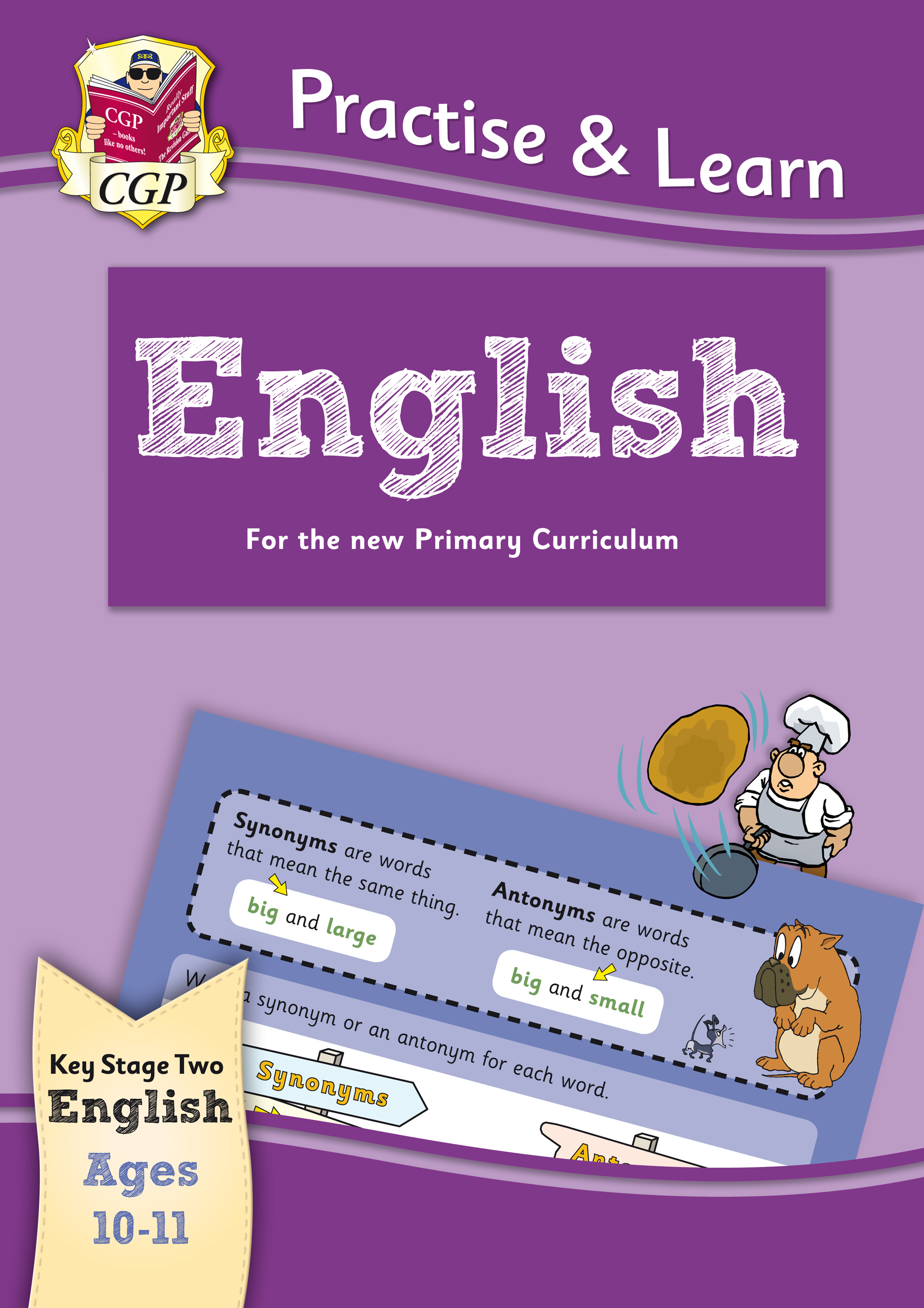 EP6Q22 - New Curriculum Practise & Learn: English for Ages 10-11.