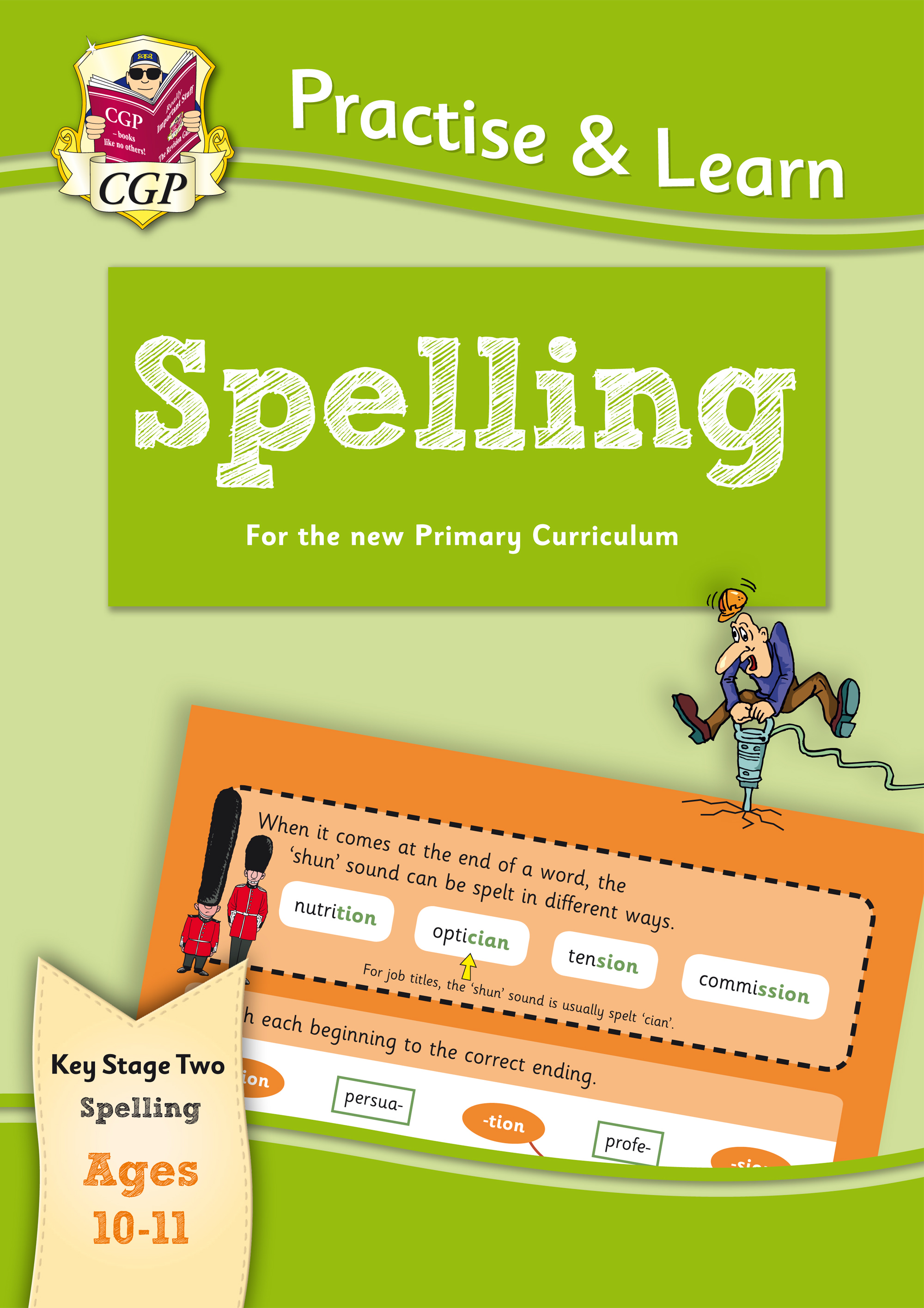 EP6S22 - New Curriculum Practise & Learn: Spelling for Ages 10-11