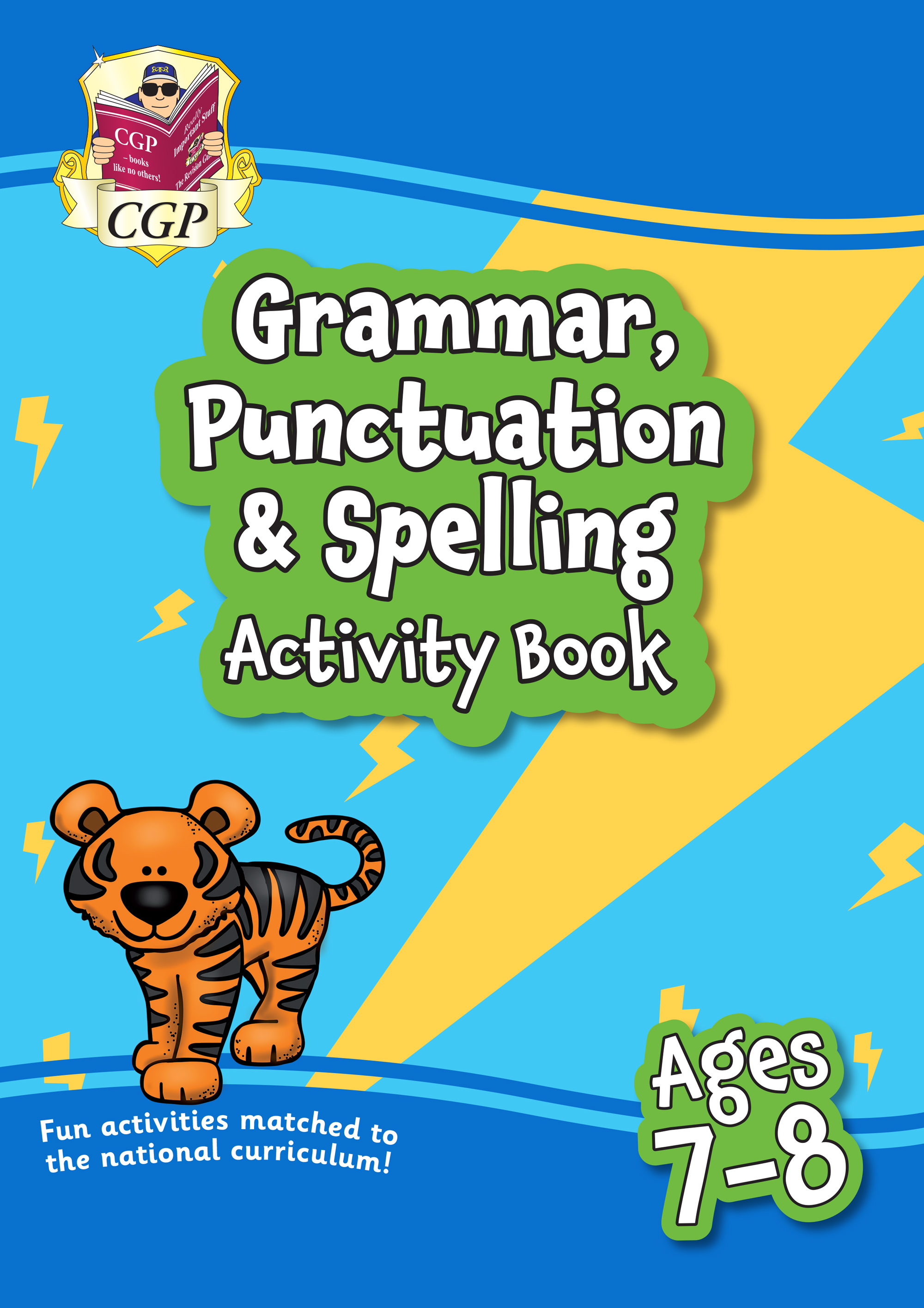 EPF3GQ21 - New Grammar, Punctuation & Spelling Home Learning Activity Book for Ages 7-8