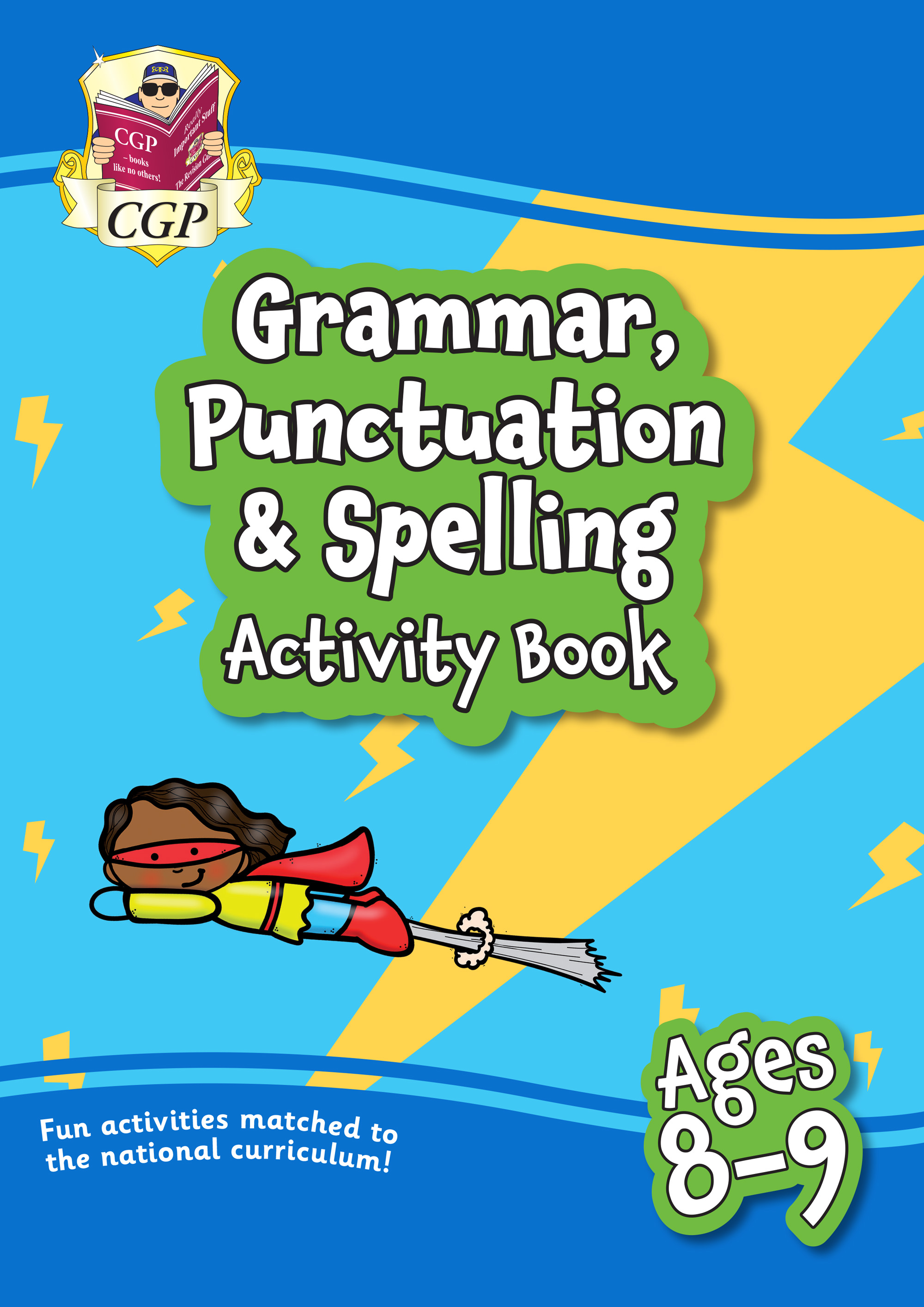 EPF4GQ21 - New Grammar, Punctuation & Spelling Home Learning Activity Book for Ages 8-9