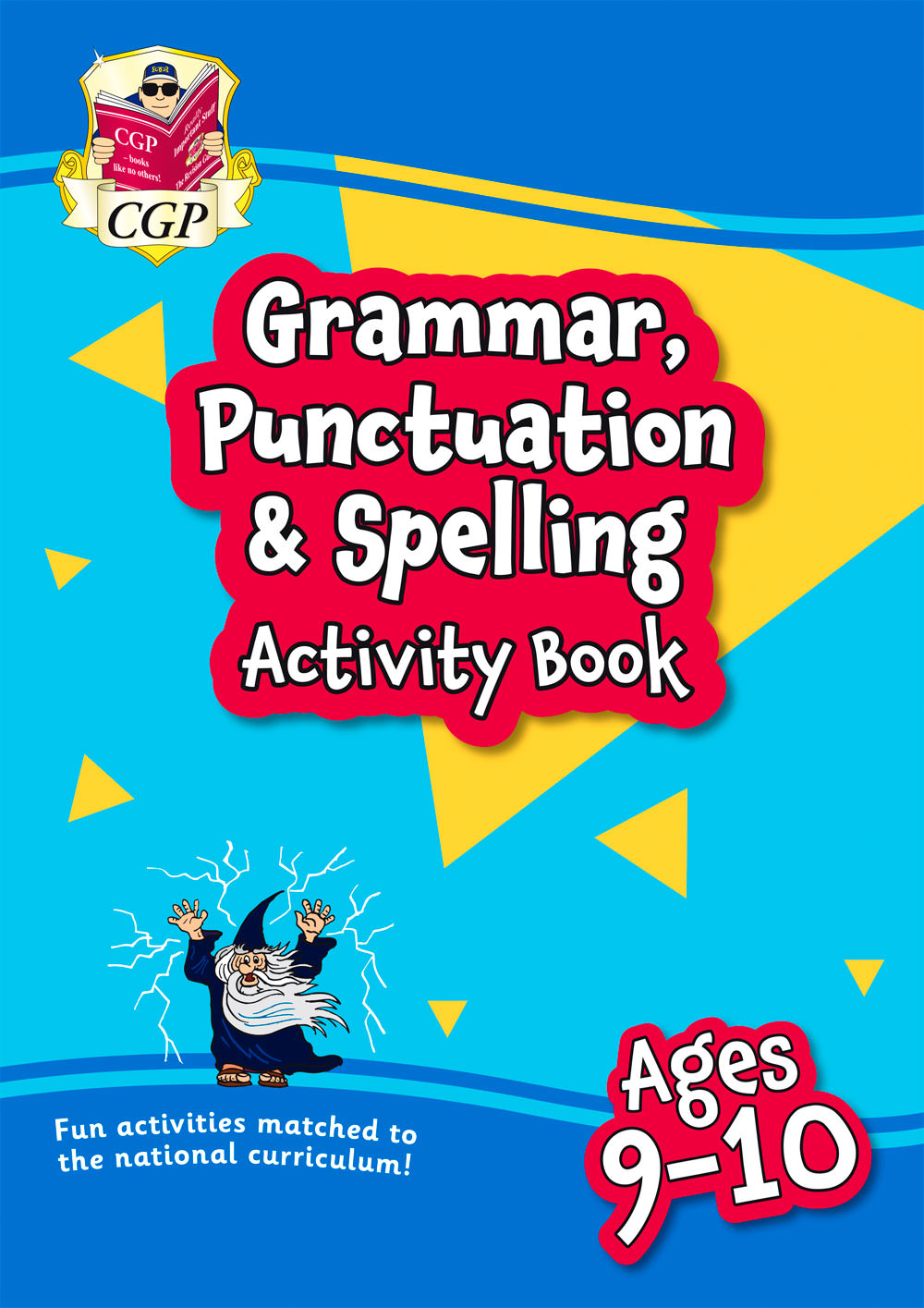 EPF5GQ21 - New Grammar, Punctuation & Spelling Activity Book for Ages 9-10