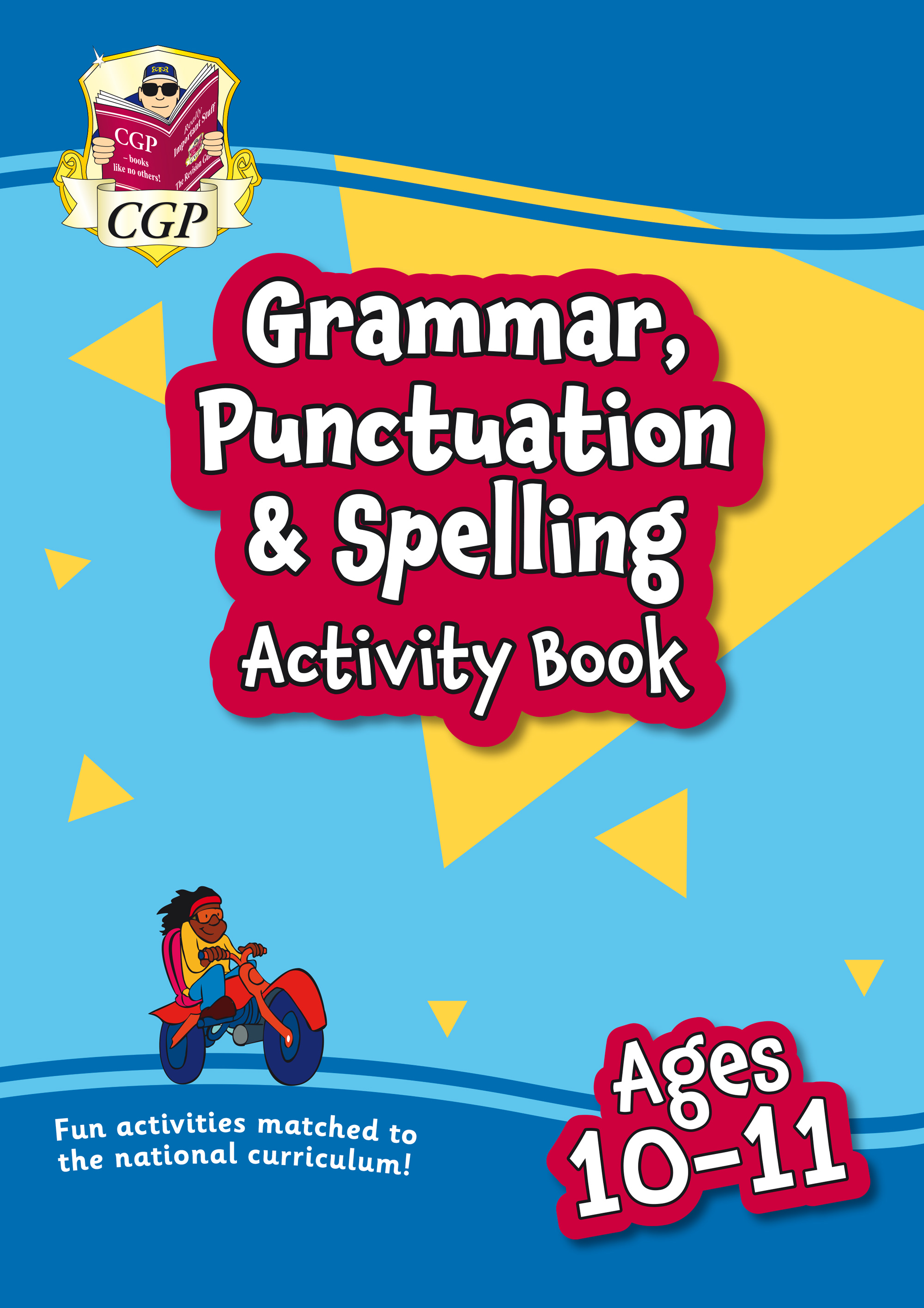 EPF6GQ21 - New Grammar, Punctuation & Spelling Activity Book for Ages 10-11