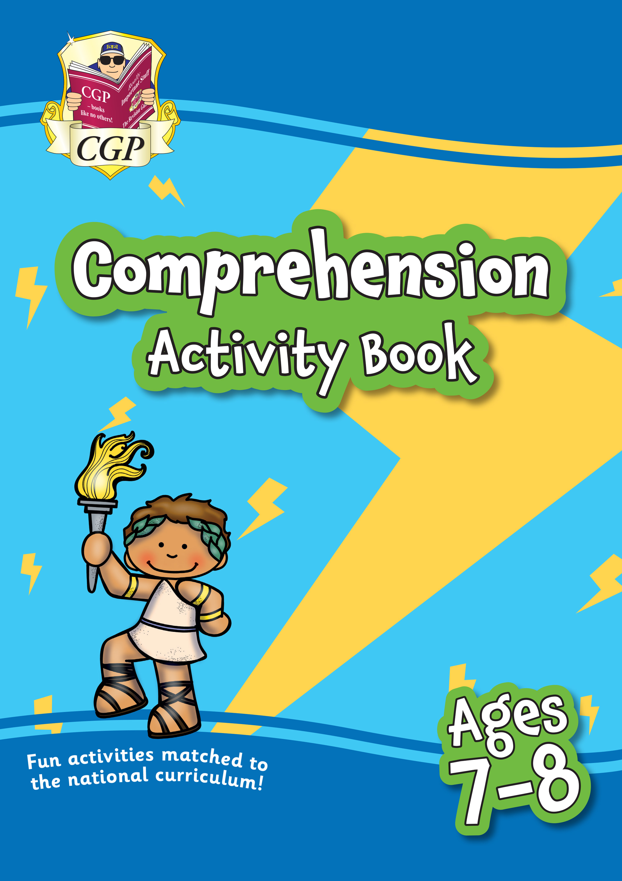 EPFC3Q21 - New English Comprehension Activity Book for Ages 7-8: Perfect for Catch-Up and Home Learn
