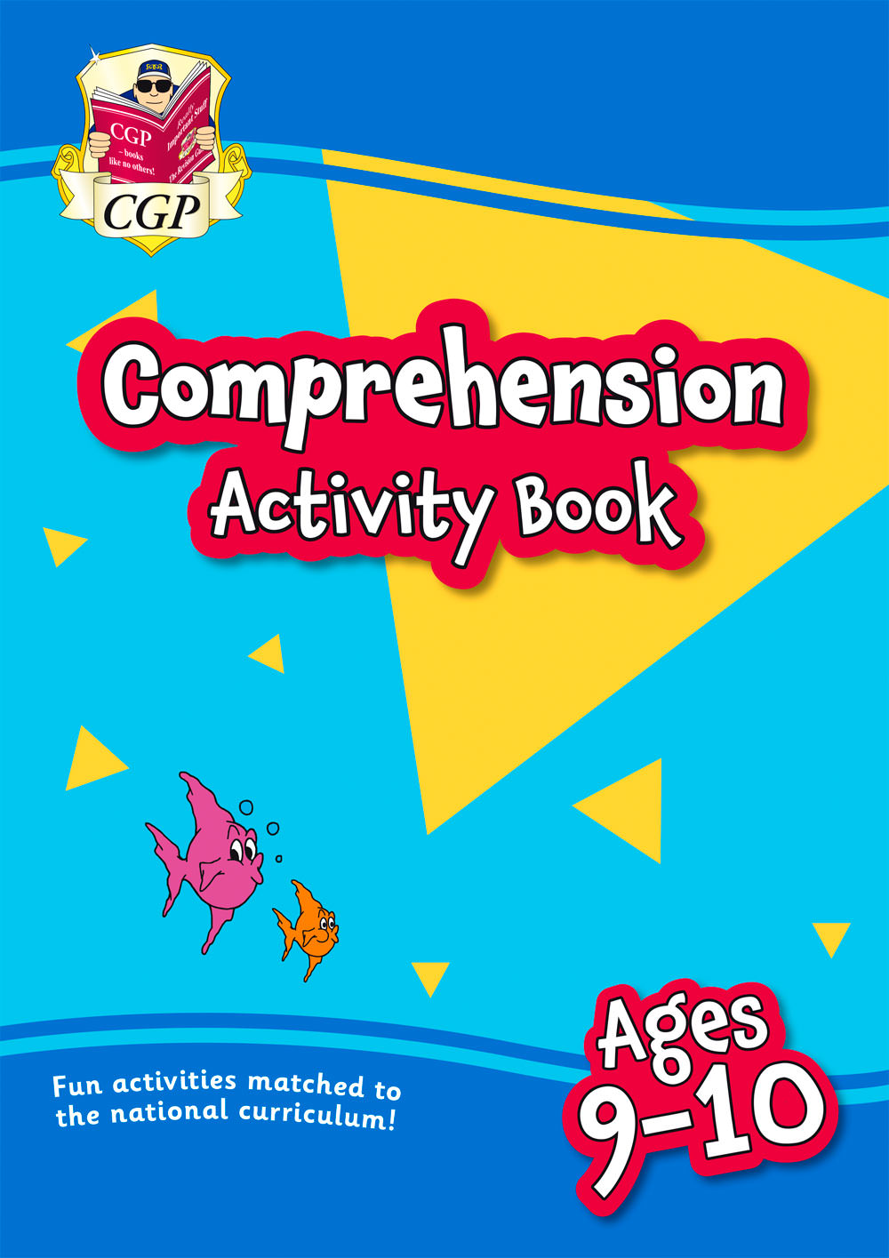 EPFC5Q21 - New English Comprehension Activity Book for Ages 9-10