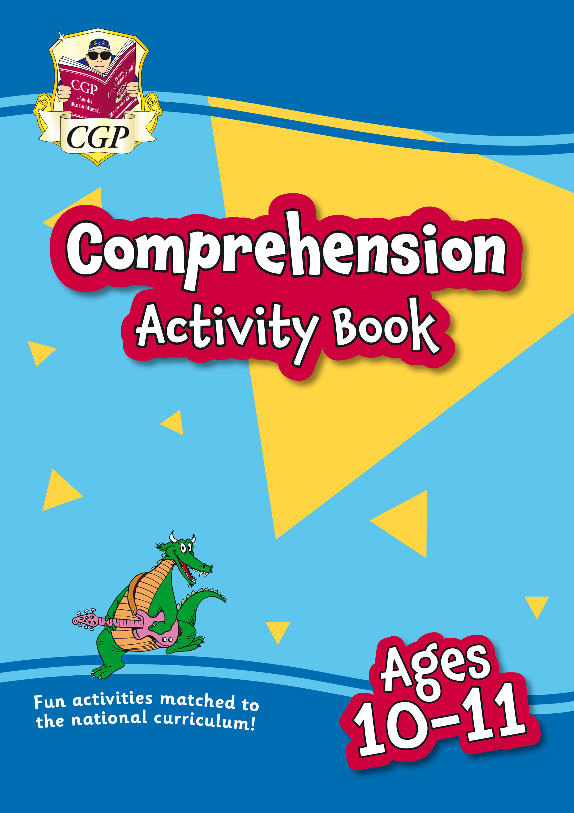 EPFC6Q21 - New English Comprehension Activity Book for Ages 10-11