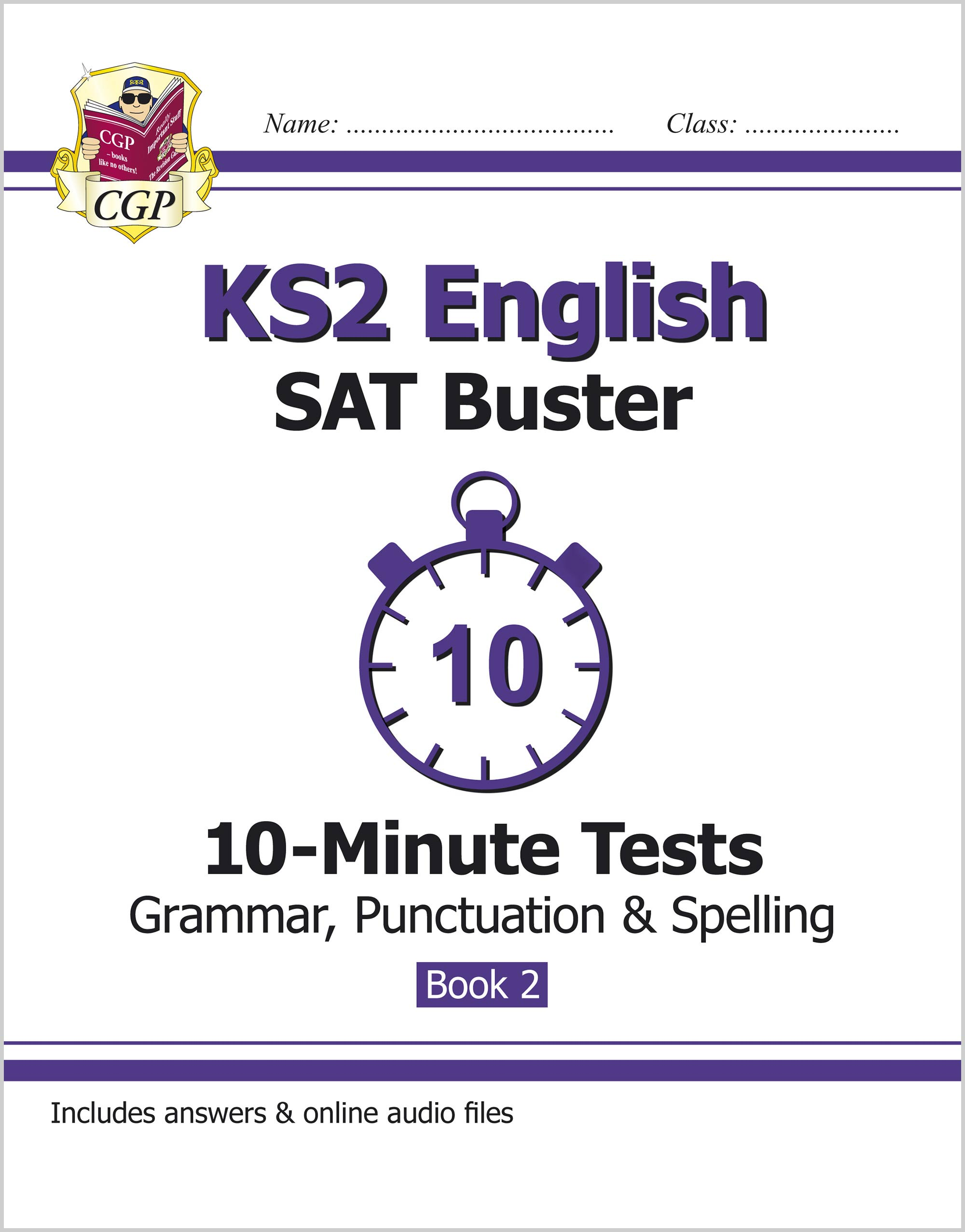 EXPG221 - KS2 English SAT Buster 10-Minute Tests: Grammar, Punctuation & Spelling Book 2 (for the 20