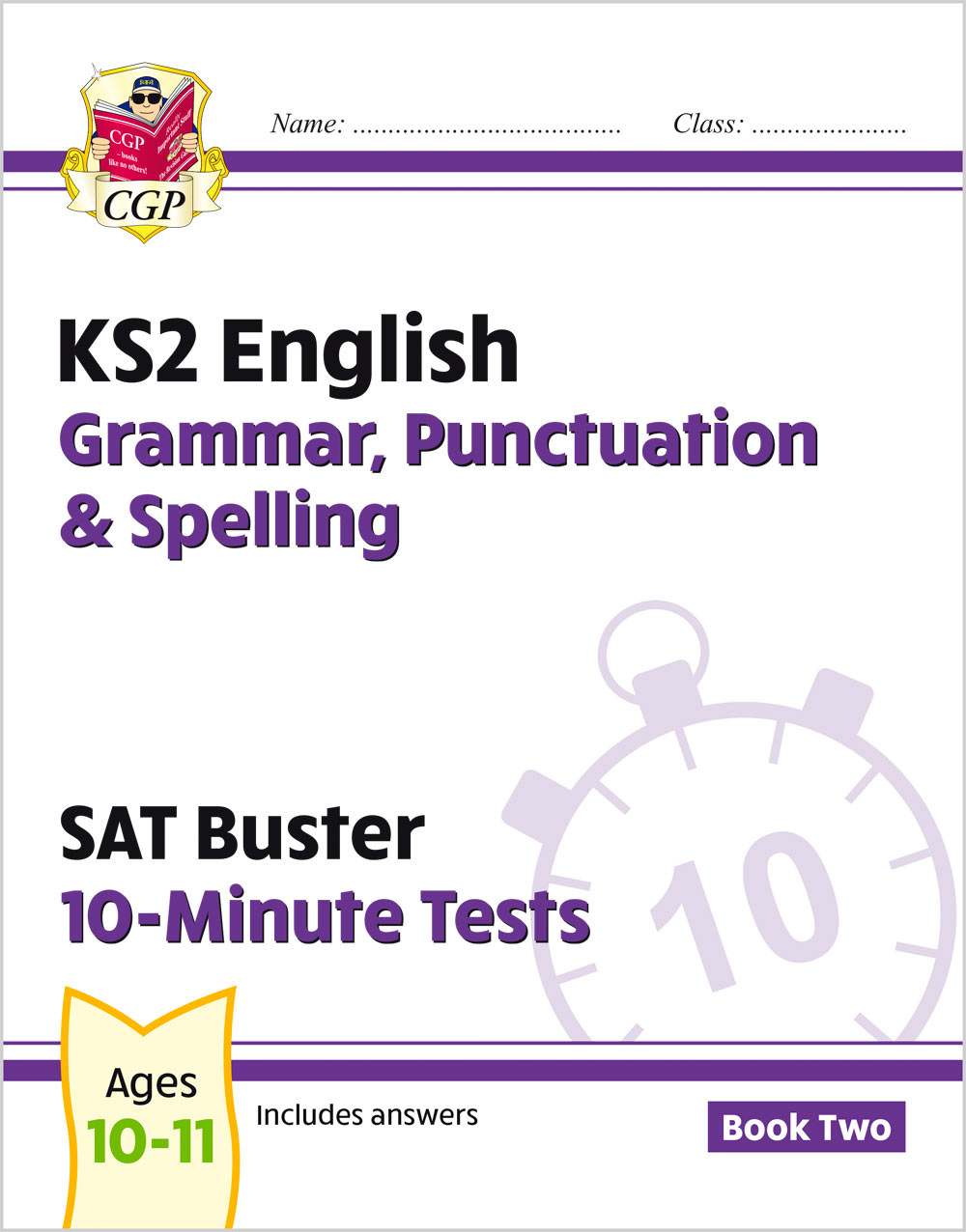 EXPG222 - New KS2 English SAT Buster 10-Minute Tests: Grammar, Punctuation & Spelling - Book 2 (for