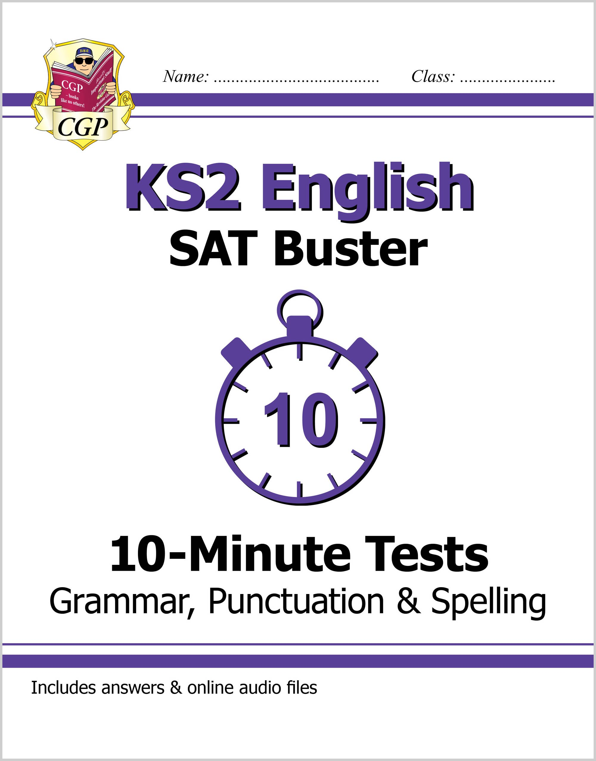 EXPG22DK - KS2 English SAT Buster 10-Minute Tests: Grammar, Punctuation & Spelling Book 1 (for the 2