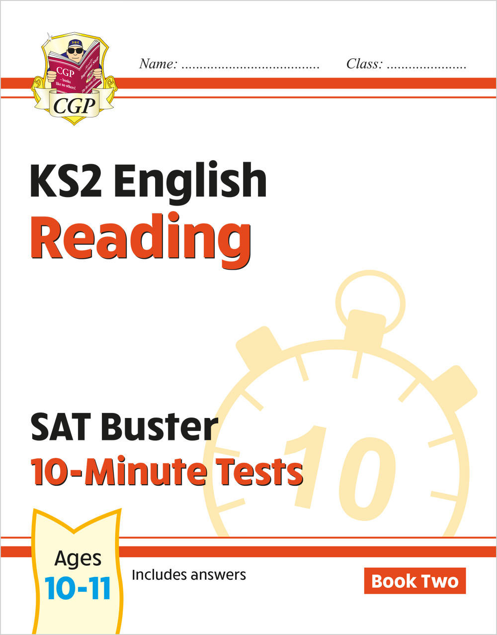 EXPR222 - New KS2 English SAT Buster 10-Minute Tests: Reading - Book 2 (for the 2021 tests)