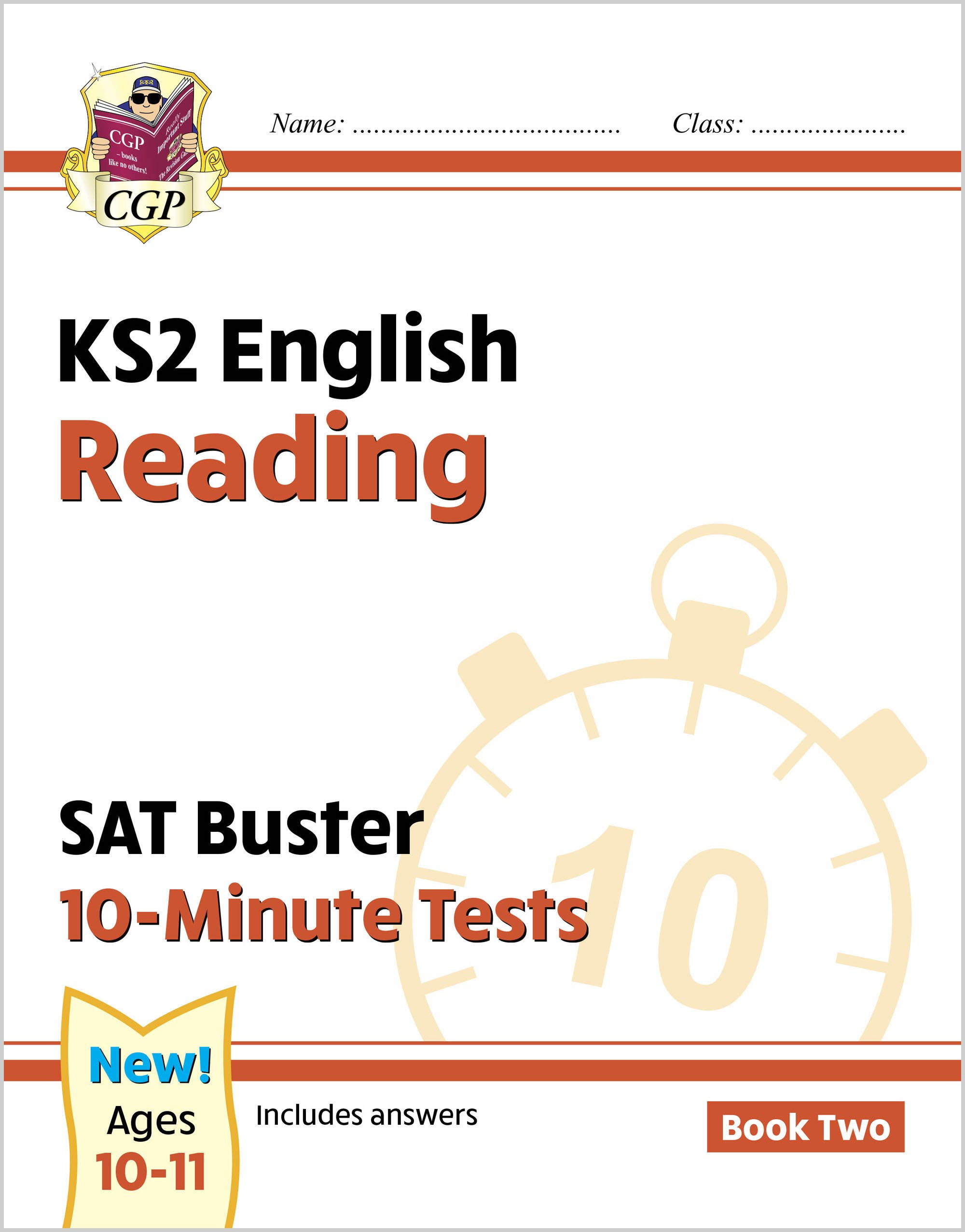 EXPR222DK - New KS2 English SAT Buster 10-Minute Tests: Reading - Book 2 (for the 2021 tests)