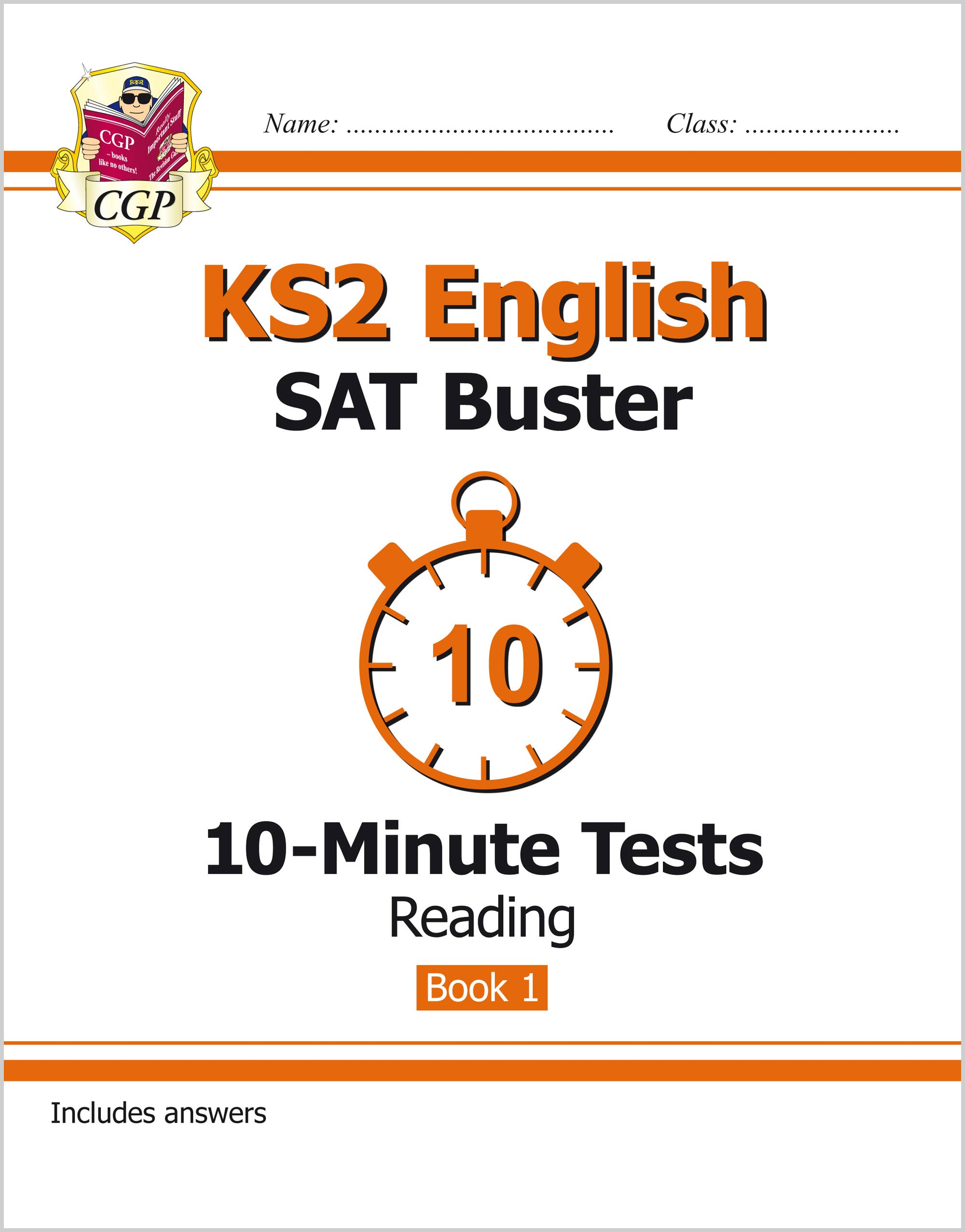 EXPR23 - KS2 English SAT Buster 10-Minute Tests: Reading - Book 1 (for the tests in 2018 and beyond)