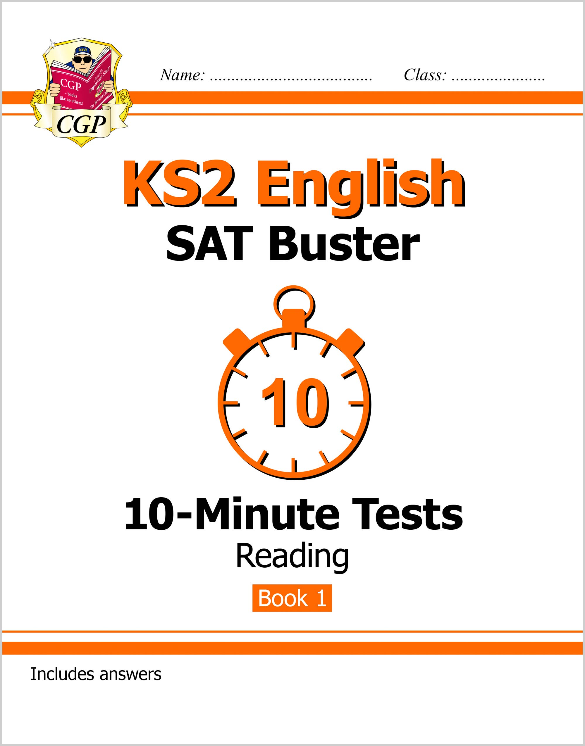 EXPR23DK - KS2 English SAT Buster 10-Minute Tests: Reading - Book 1 (for the tests in 2018 and beyon