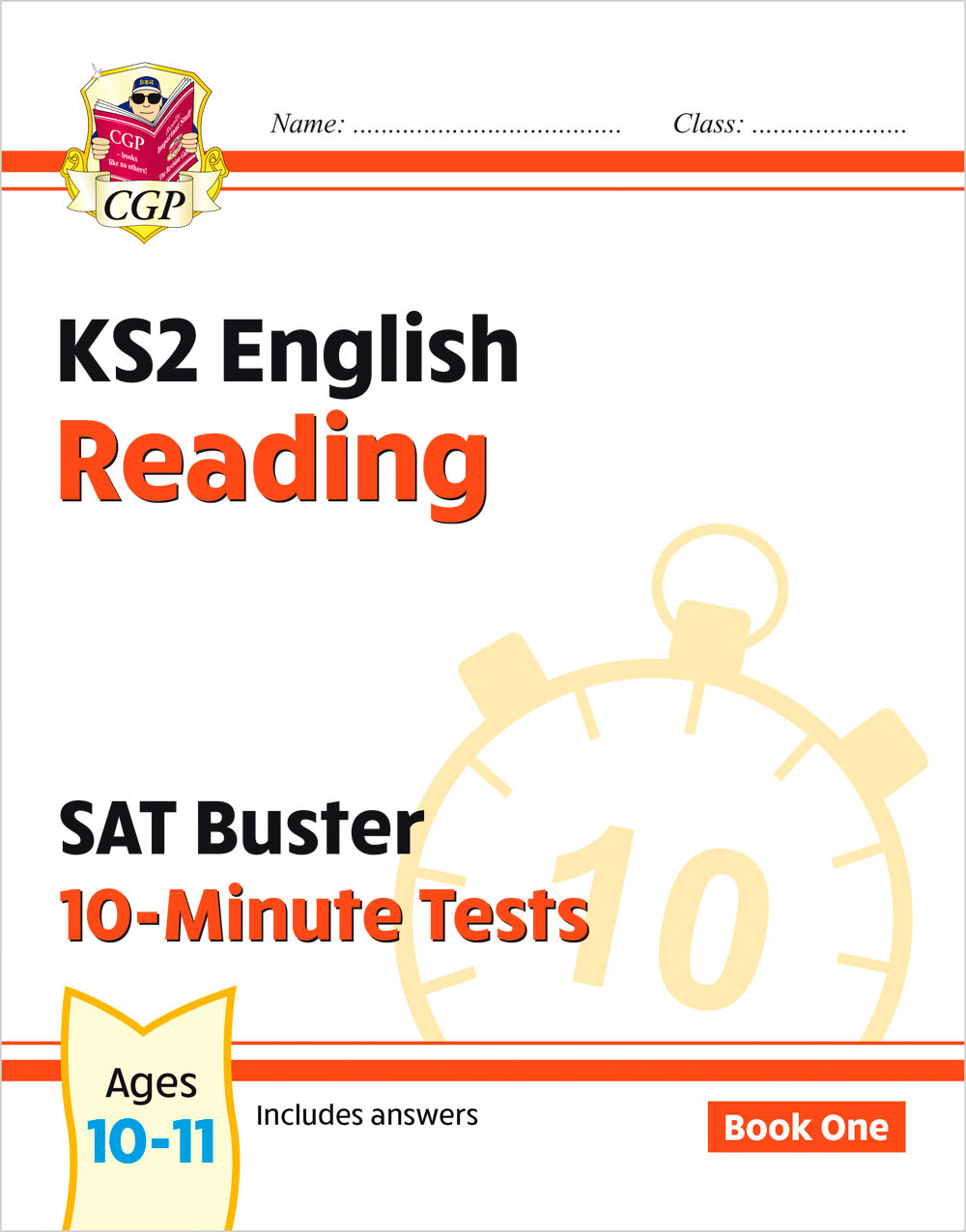 EXPR24 - New KS2 English SAT Buster 10-Minute Tests: Reading - Book 1