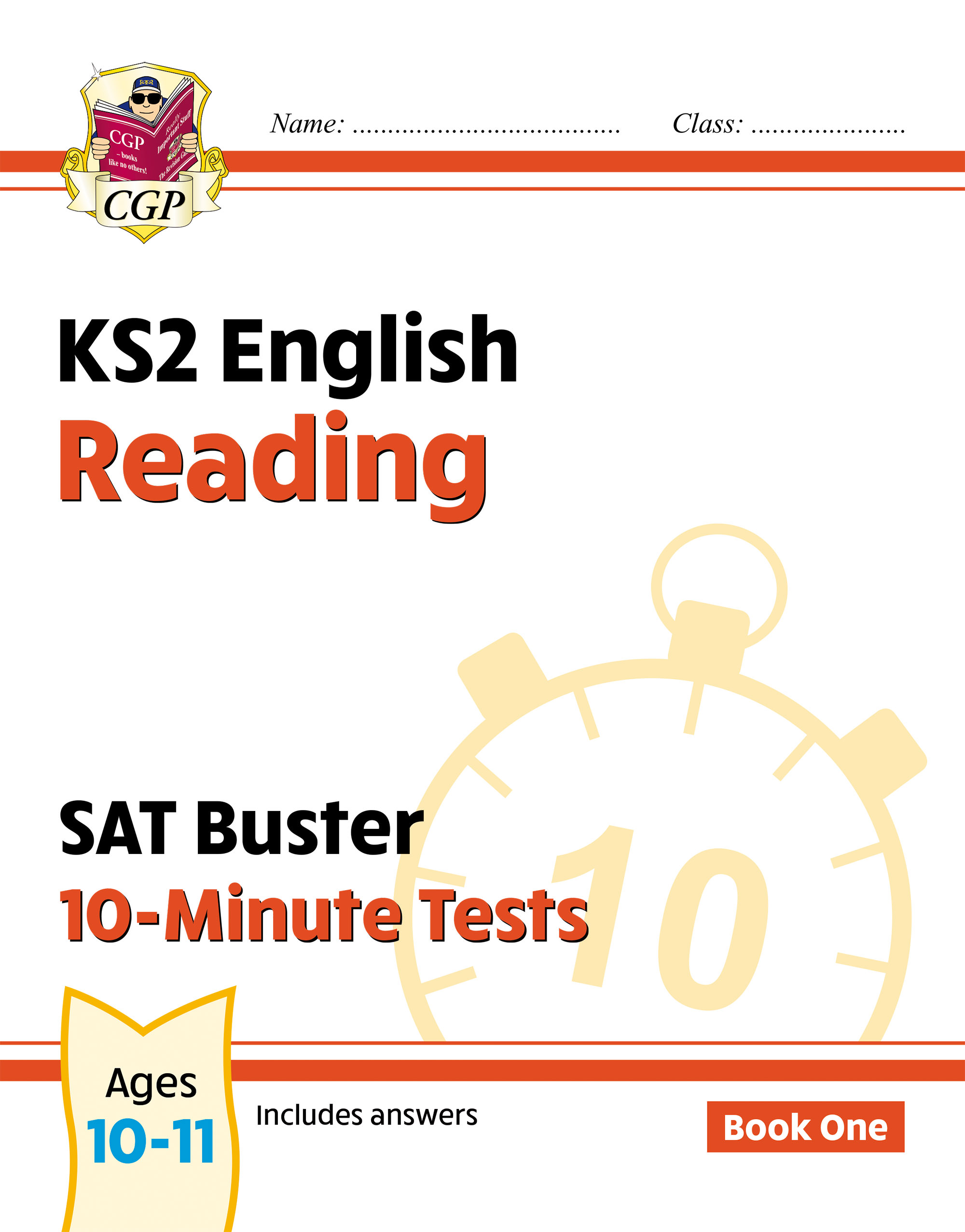 EXPR24DK - New KS2 English SAT Buster 10-Minute Tests: Reading - Book 1 (for the 2021 tests)