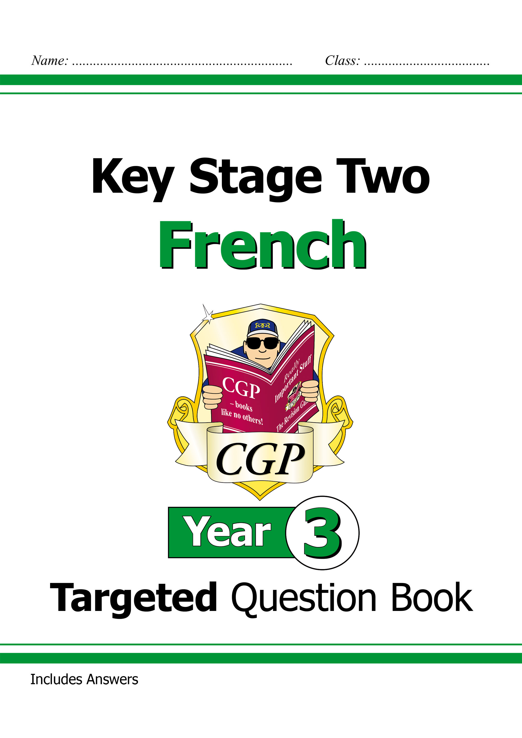 F3Q21DK - New KS2 French Targeted Question Book - Year 3