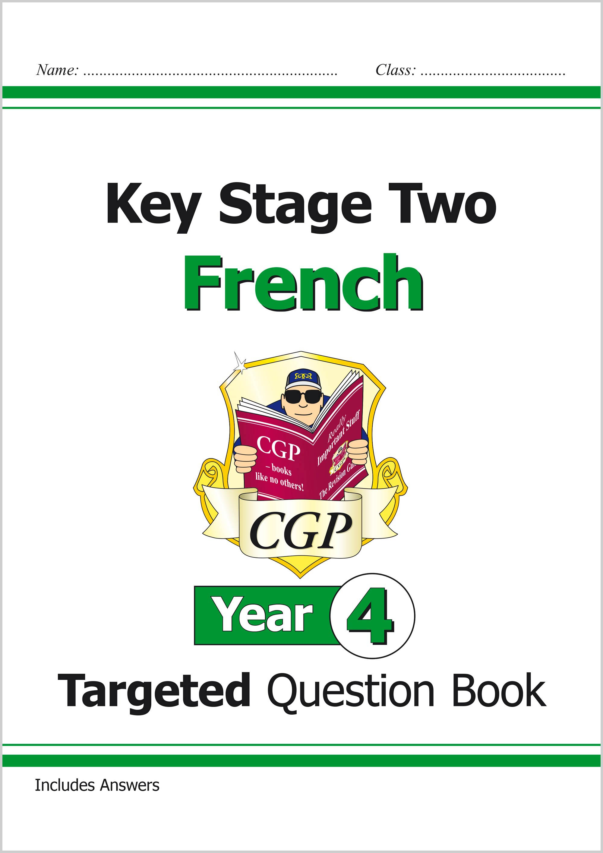 F4Q21 - New KS2 French Targeted Question Book - Year 4