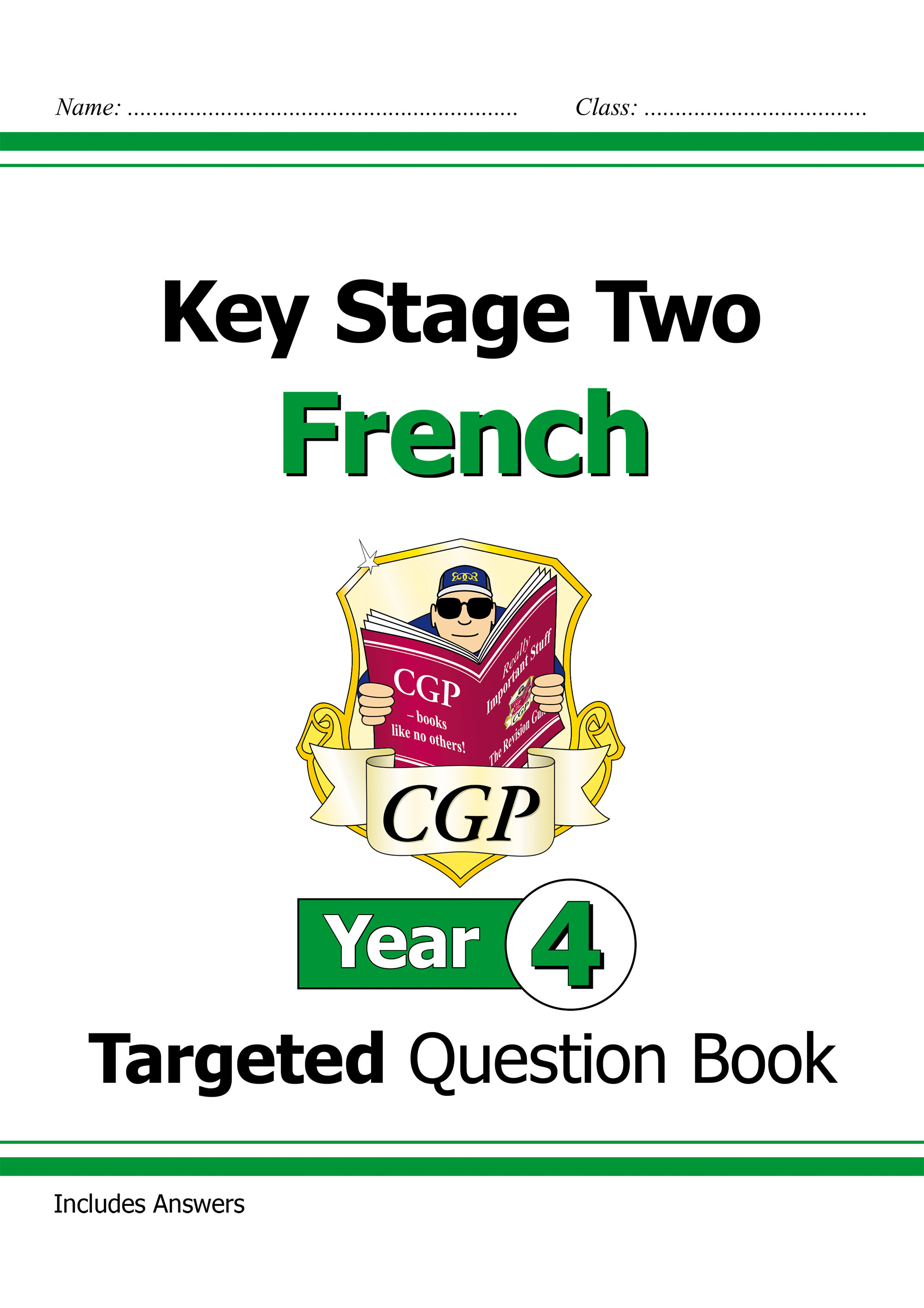 F4Q21D - New KS2 French Targeted Question Book - Year 4 Online Edition