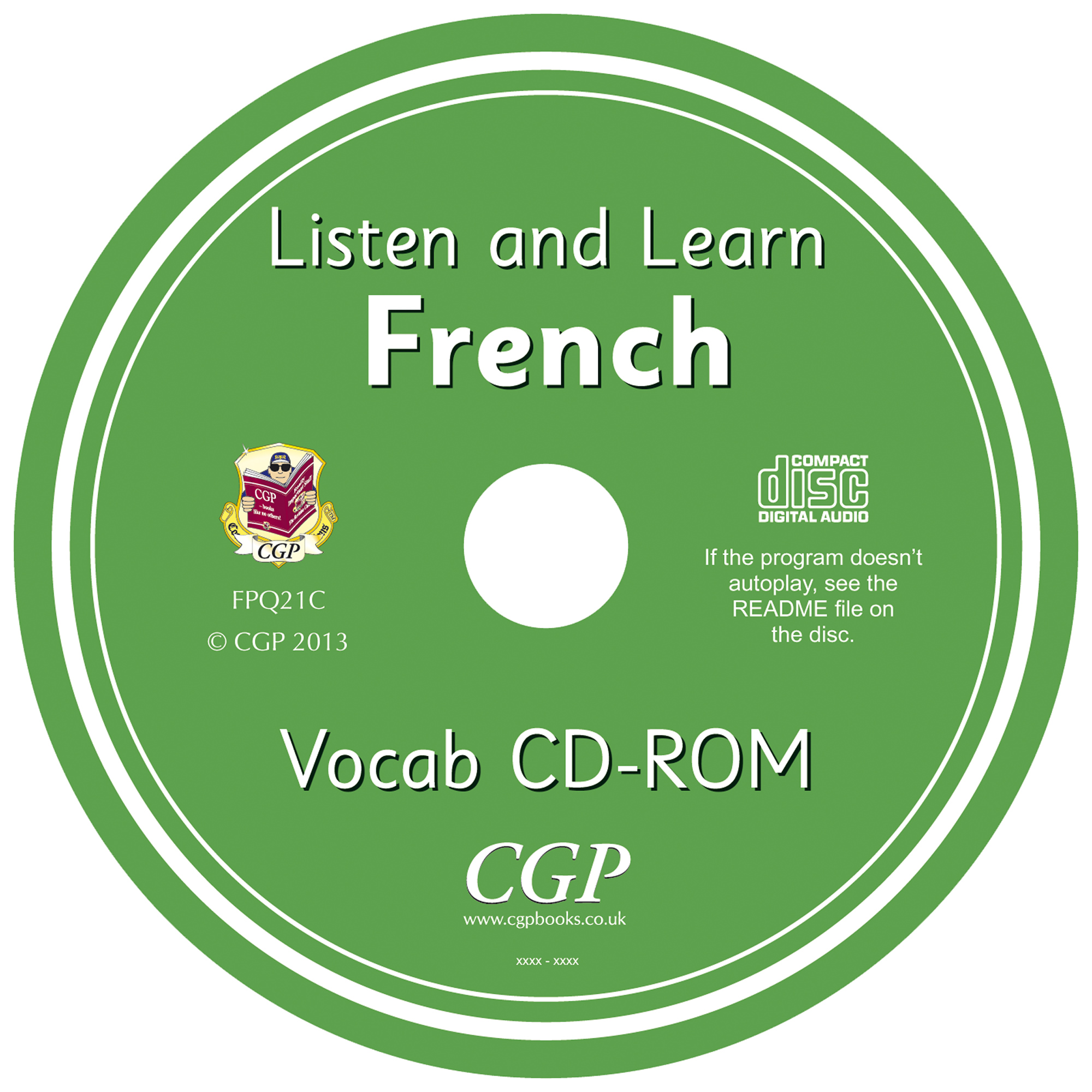 FPQ21C - UNMADE CD Practise & Learn French CD