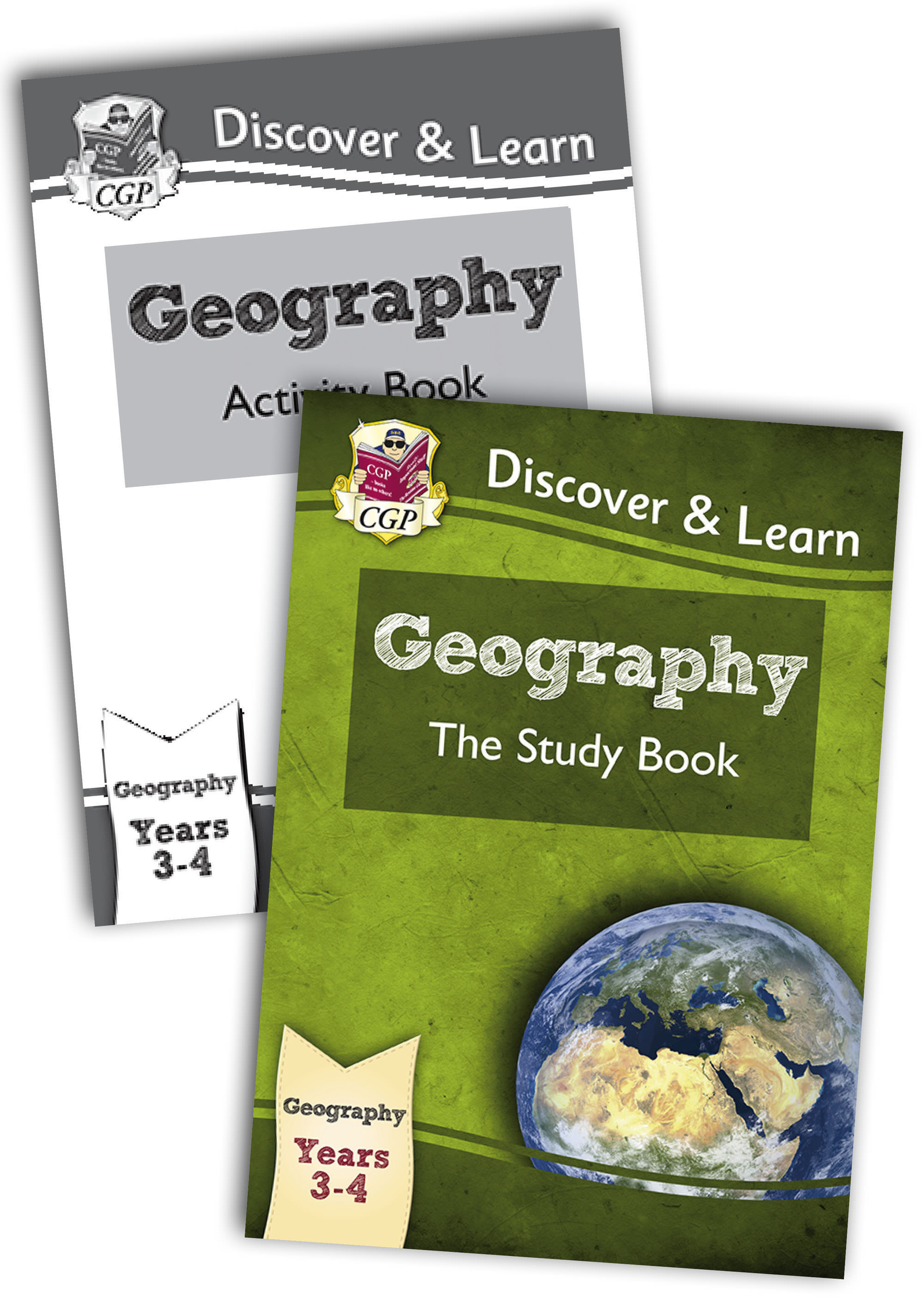 G1B21 - KS2 Discover & Learn: Geography Year 3 & 4 Bundle