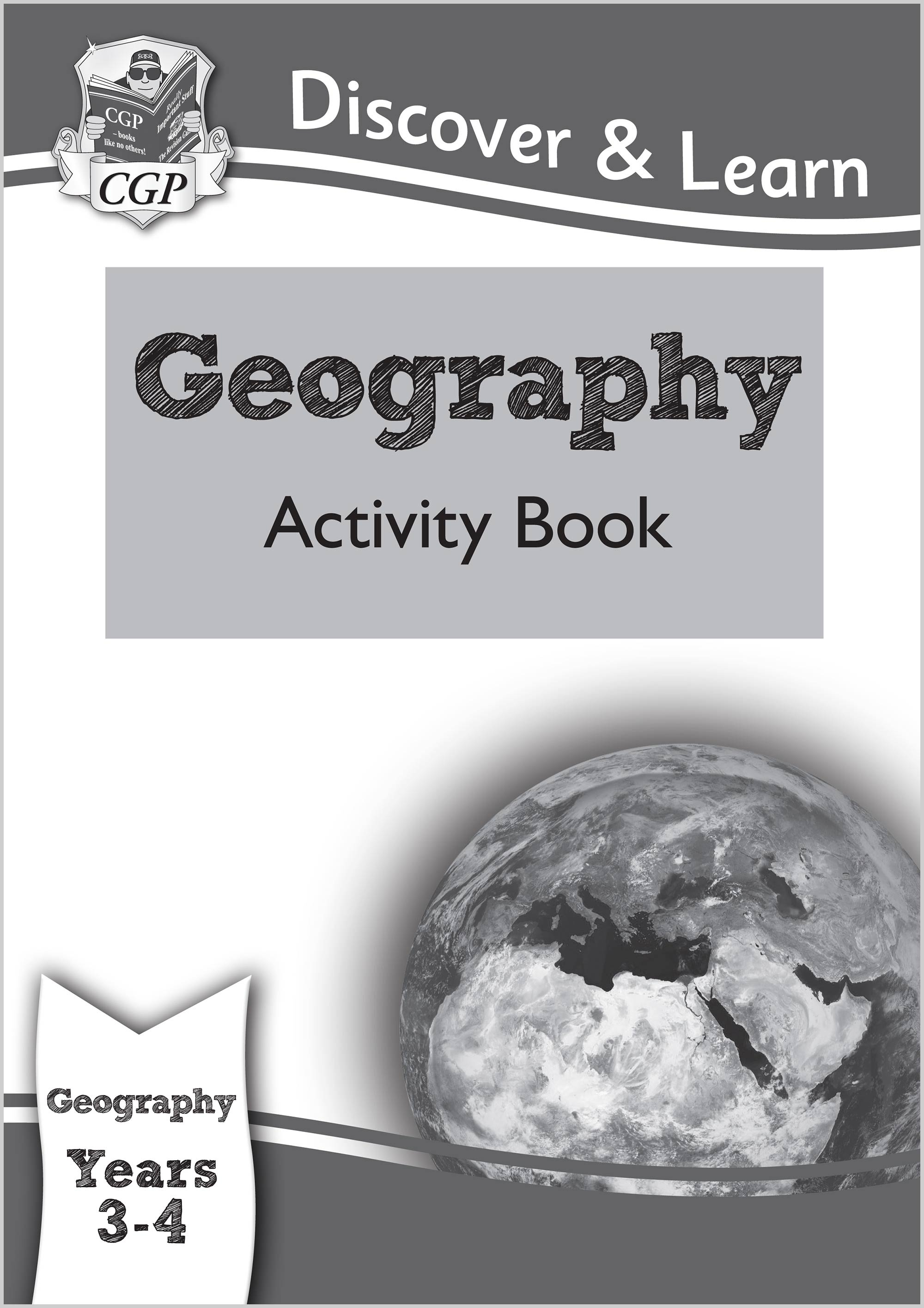 G1Q21 - KS2 Discover & Learn: Geography - Activity Book, Year 3 & 4
