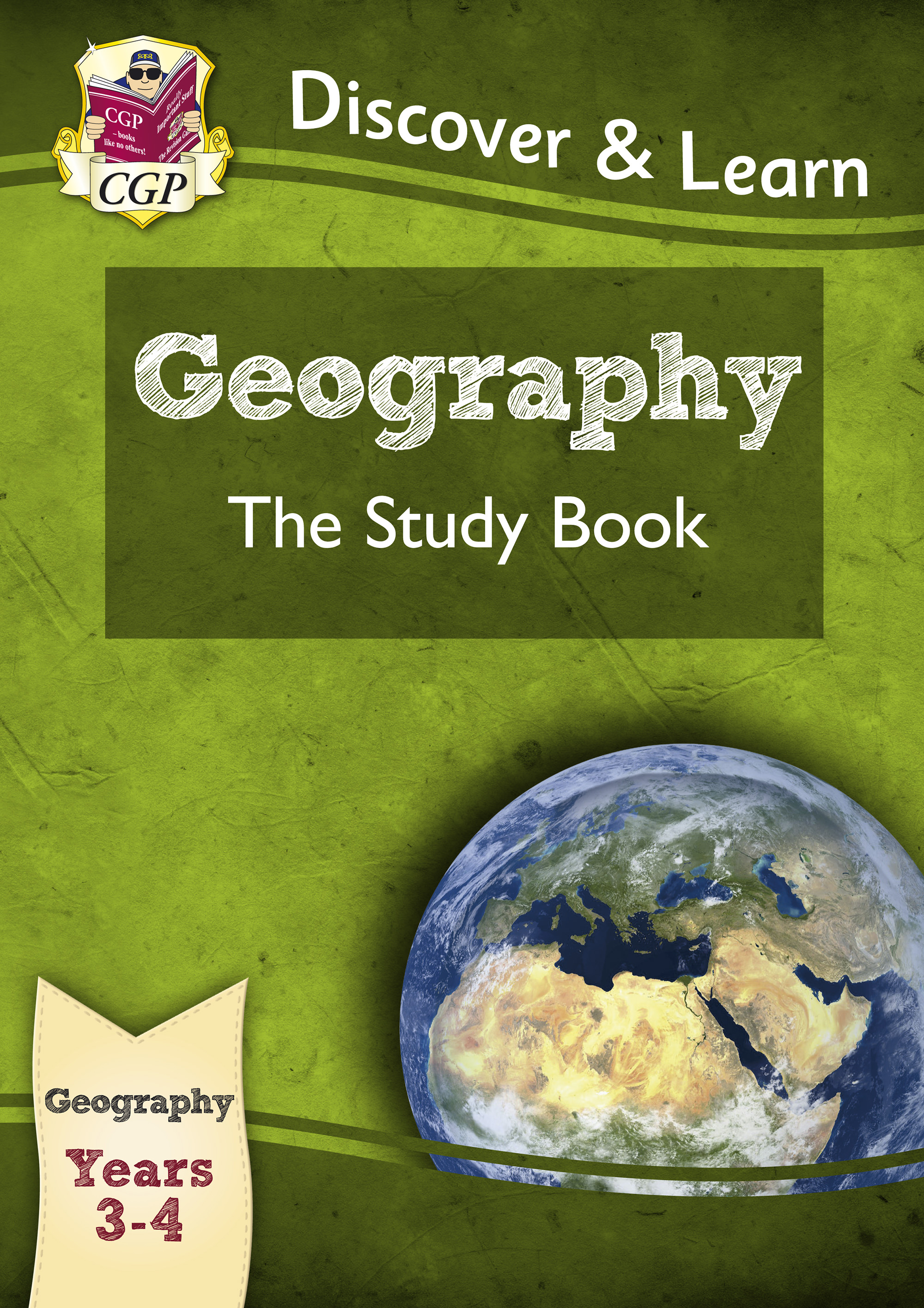 G1R21 - KS2 Discover & Learn: Geography - Study Book, Year 3 & 4