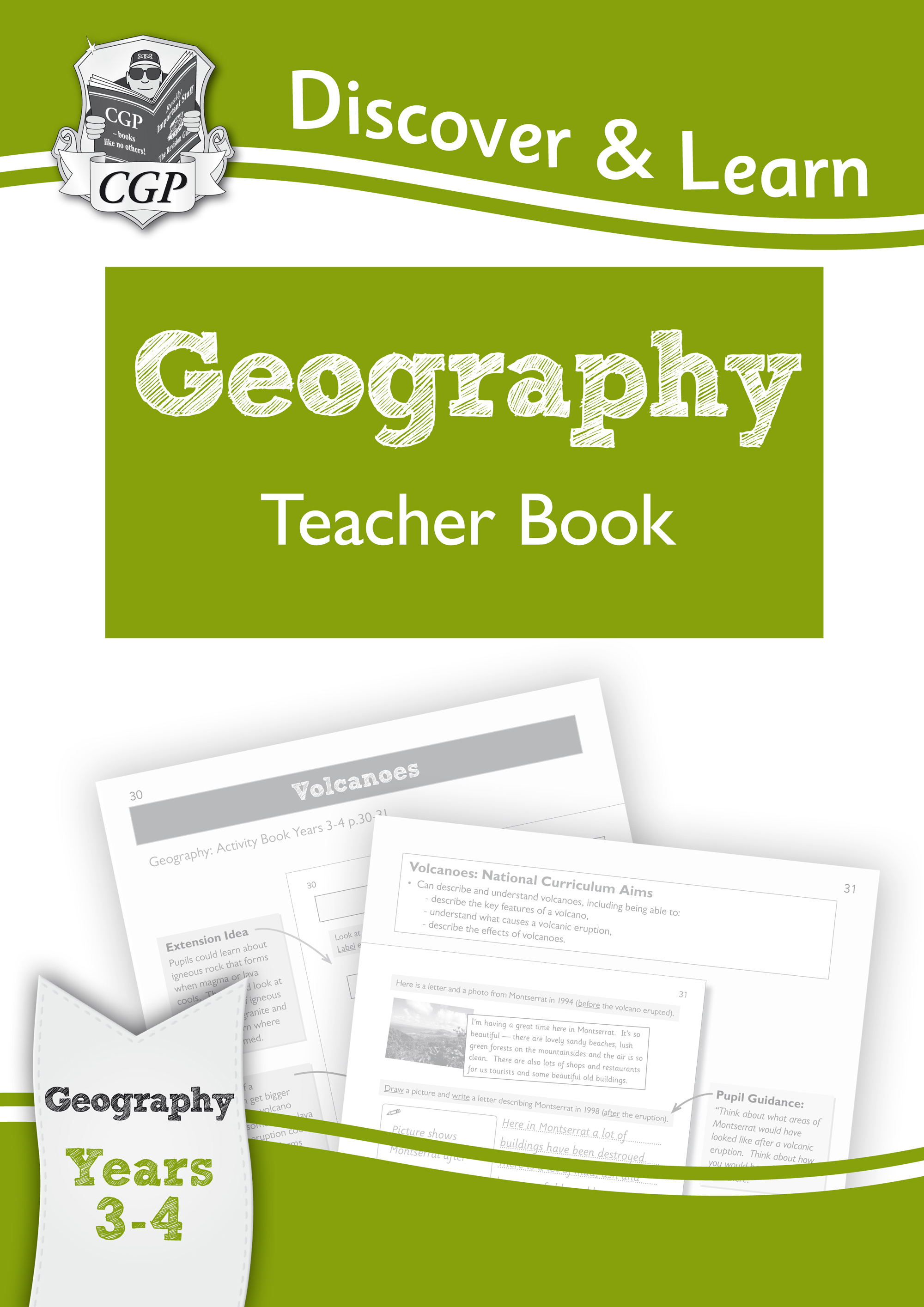 G1T21 - KS2 Discover & Learn: Geography - Teacher Book, Year 3 & 4