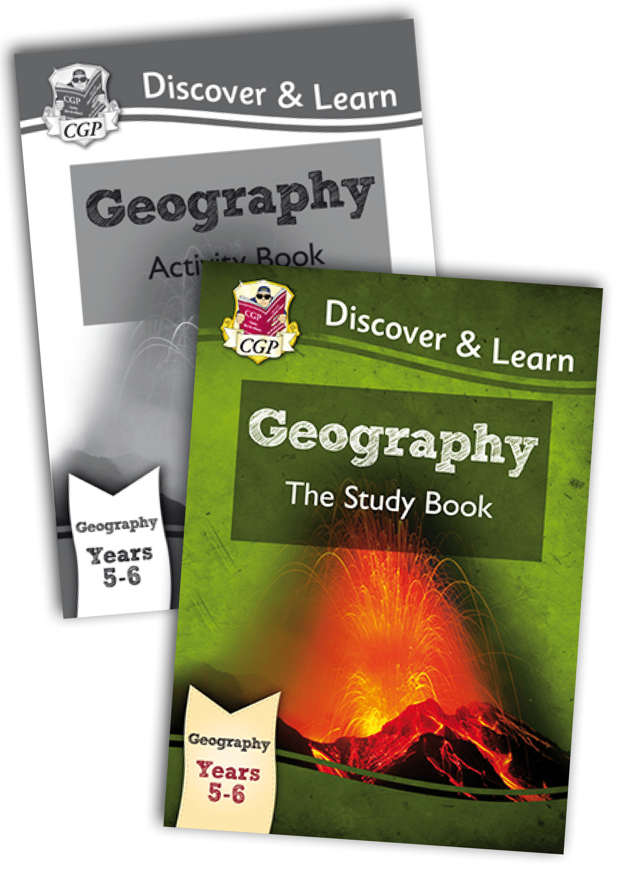 G2B21 - KS2 Discover & Learn: Geography Year 5 & 6 Bundle